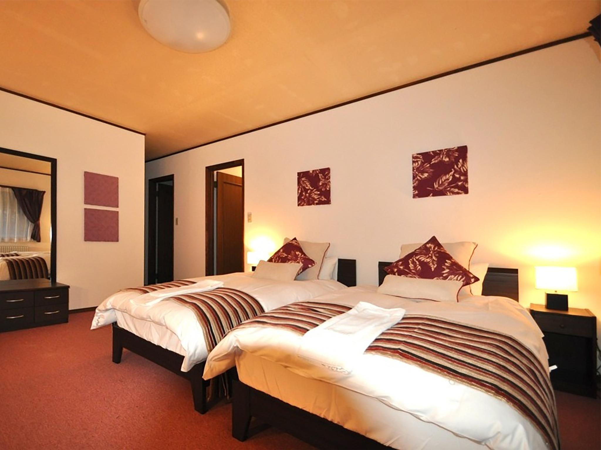 Echo Villa 2F twin bed room