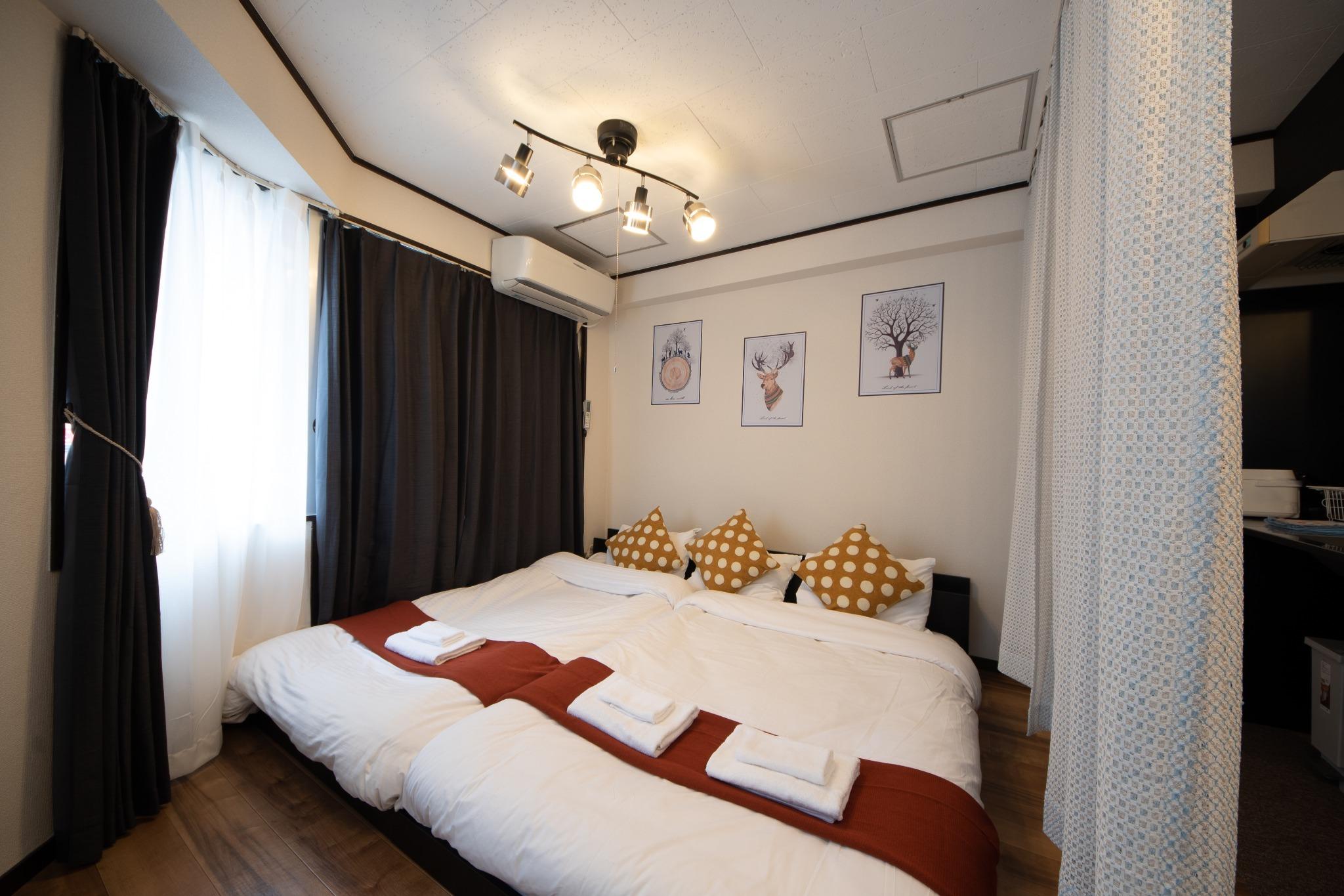 シングルベッド&ダブルベッド