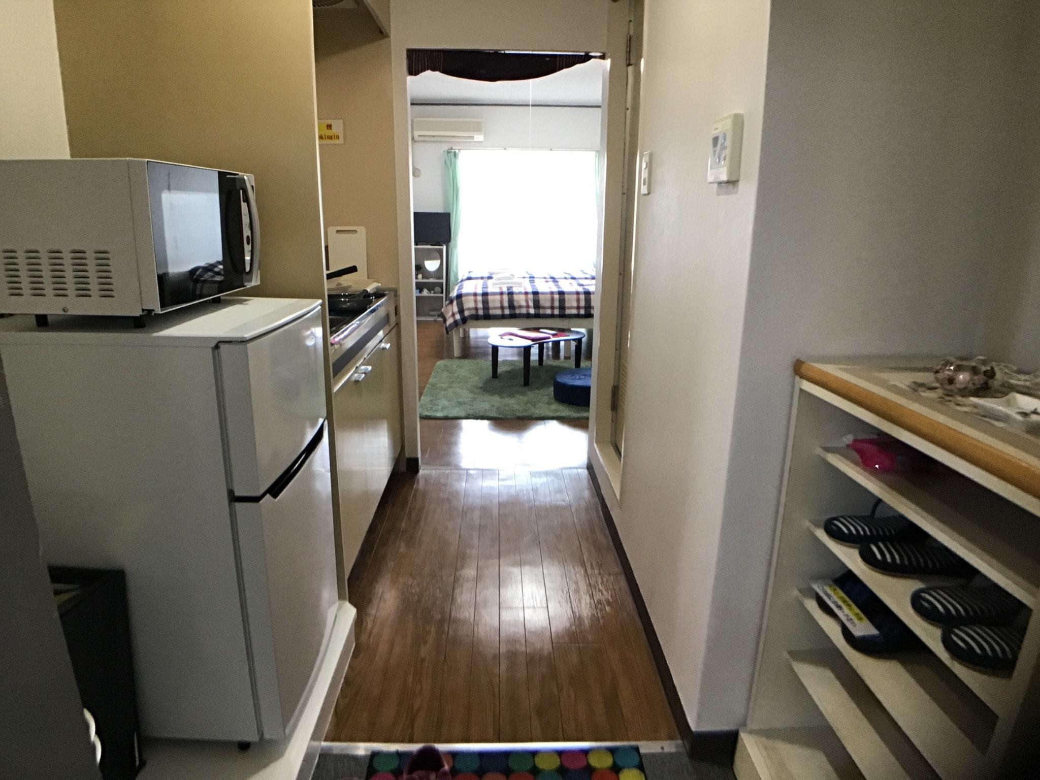 ☆2名様からがお得です!ワンルームマンション貸切・旅行に仕事に静かで安全な宿・ペット可(別料金)です