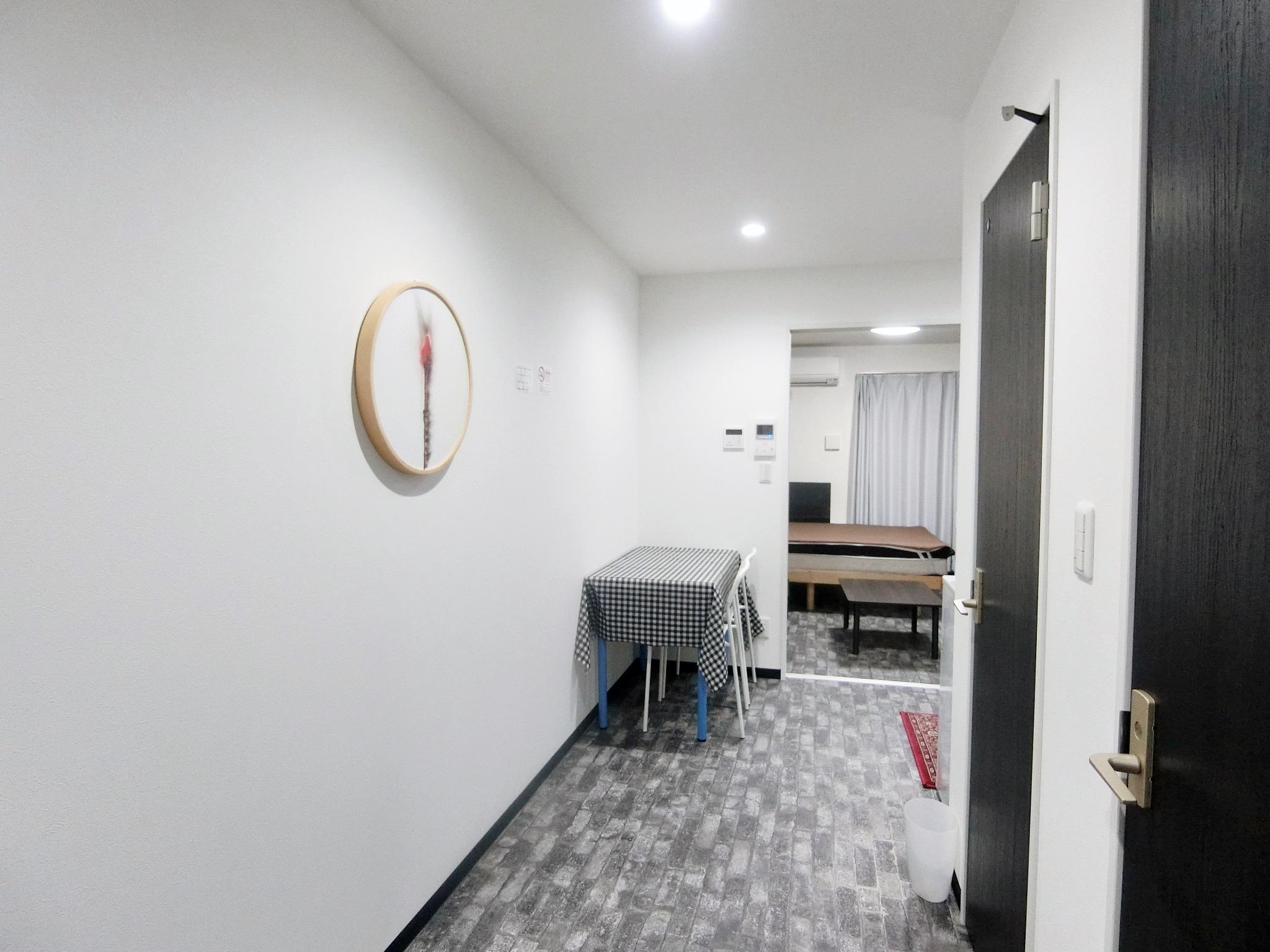 洋室1 1DK部屋、京都、神戸方面へも電車一本!阪急十三駅からすぐ!Wi-Fi完備