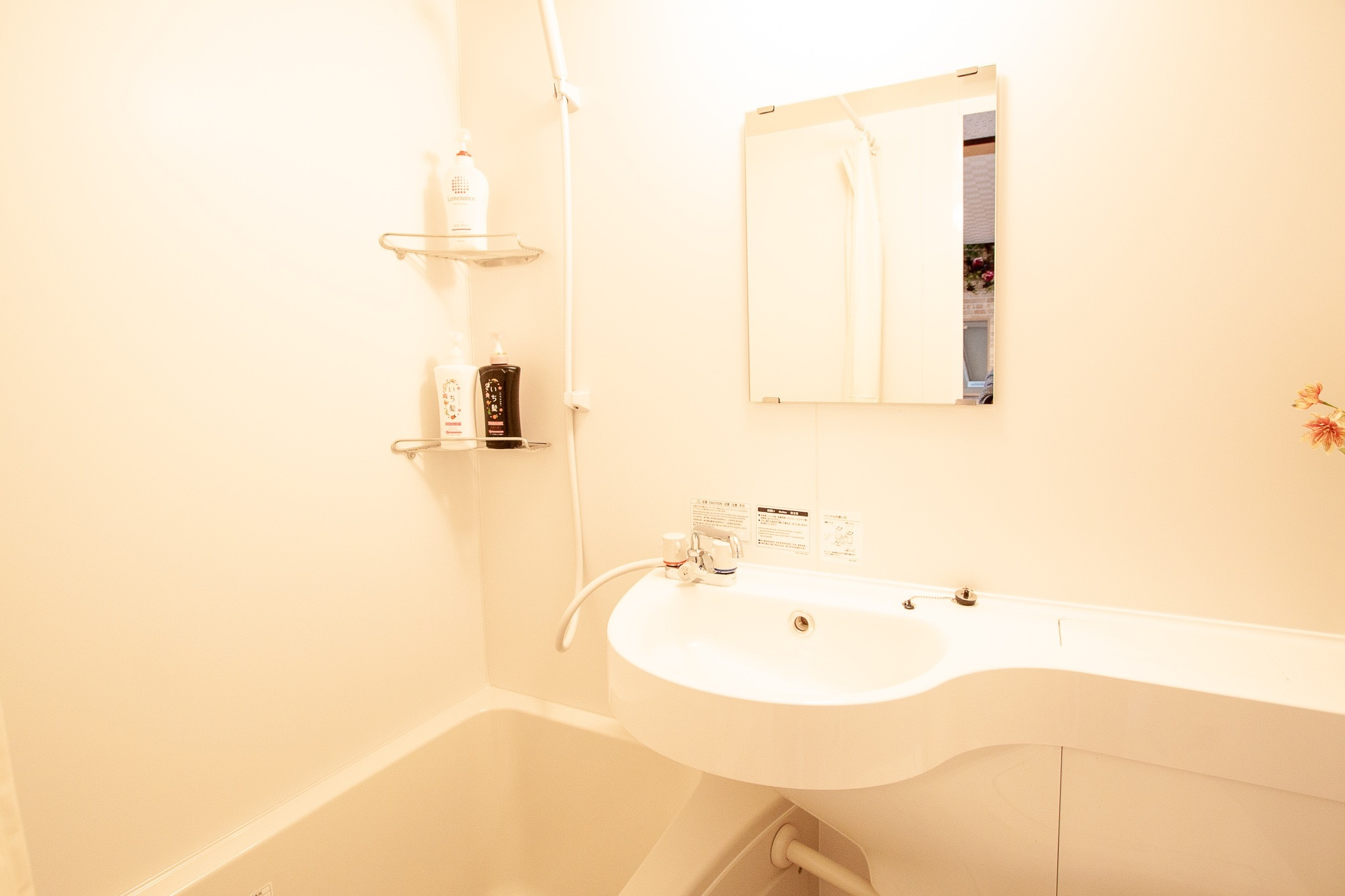Natural room : 奈良公園近く!改装済みバスルームの綺麗なお部屋