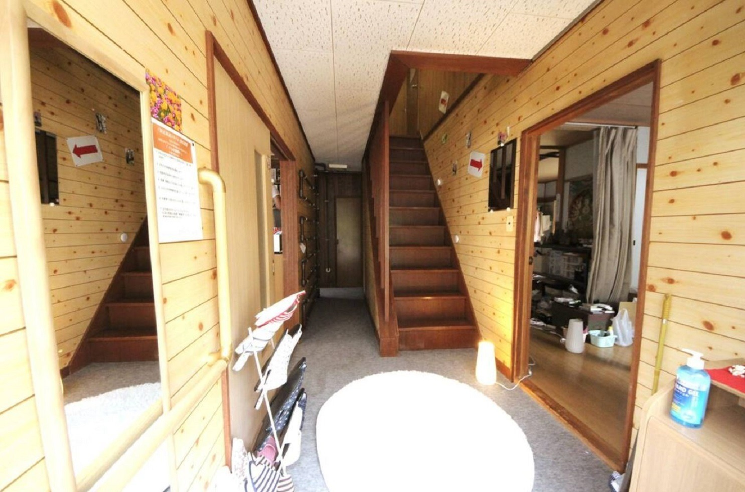 宿泊室1★最寄バス停から徒歩10分♪北海道北湯沢温泉が楽しめます!