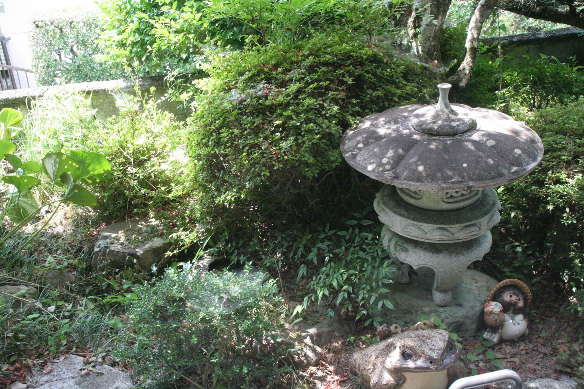縁側からお庭を眺めるのもステキ