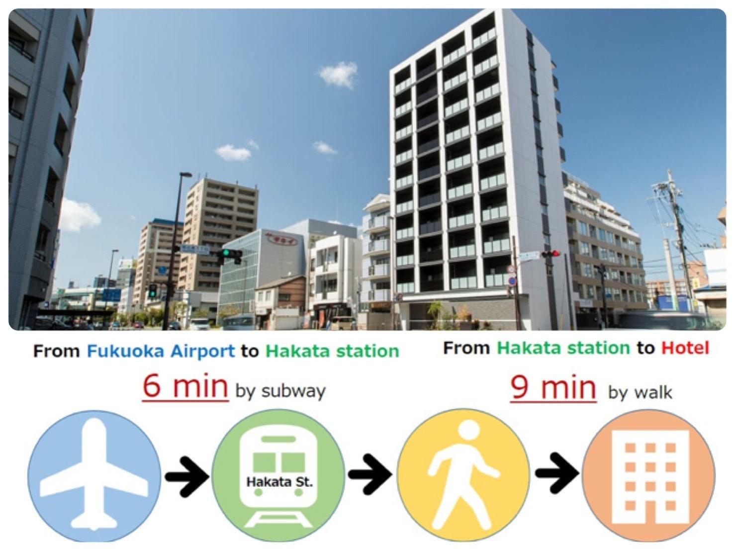 NEW OPEN(SGB605)博多駅近く/最大5名
