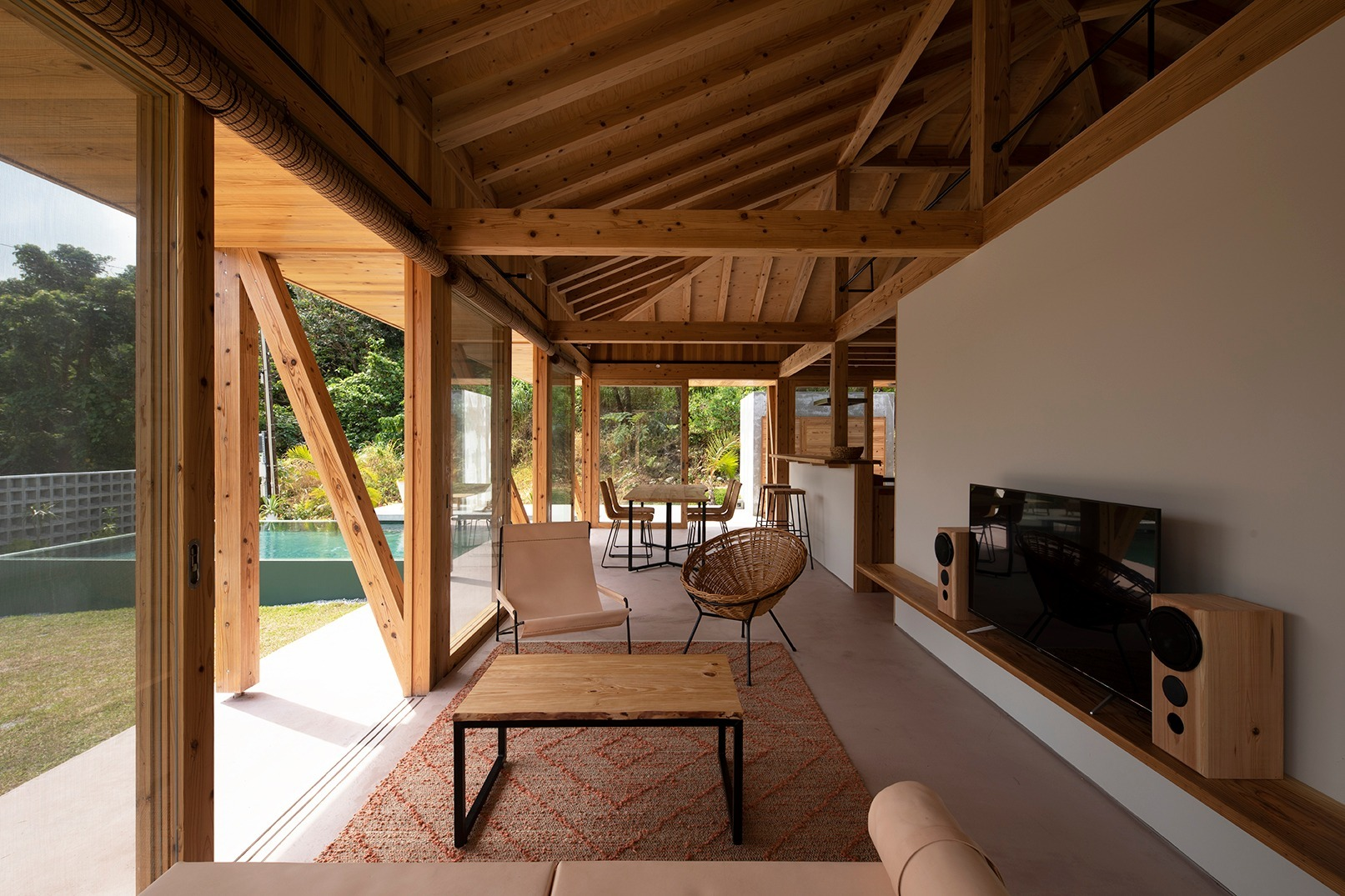敷地250坪プール,離れ付き木造一戸建て/おすすめリモートハウス