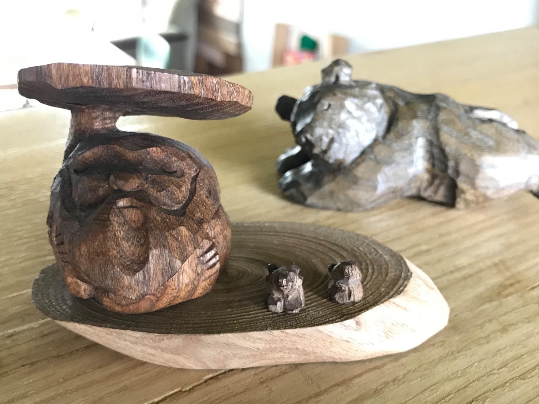 木彫 あとぐちさん