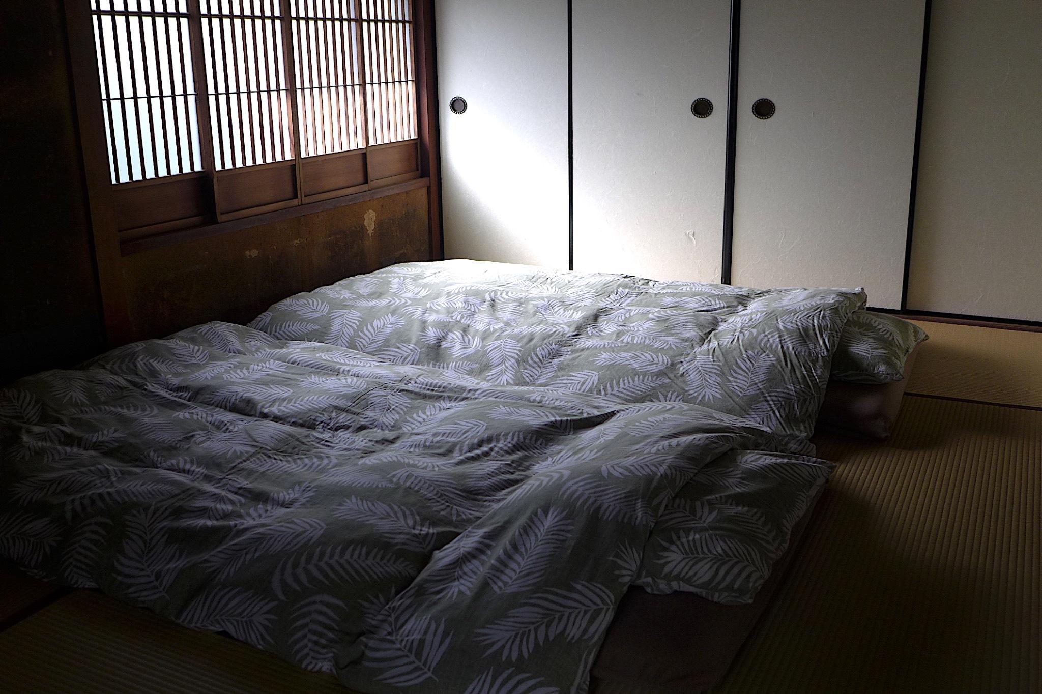 和室、お布団