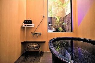 【コロナ対策ばっちり】京蘭ー風花邸お庭を眺めながら信楽焼風呂に入れる一棟貸し施設全景