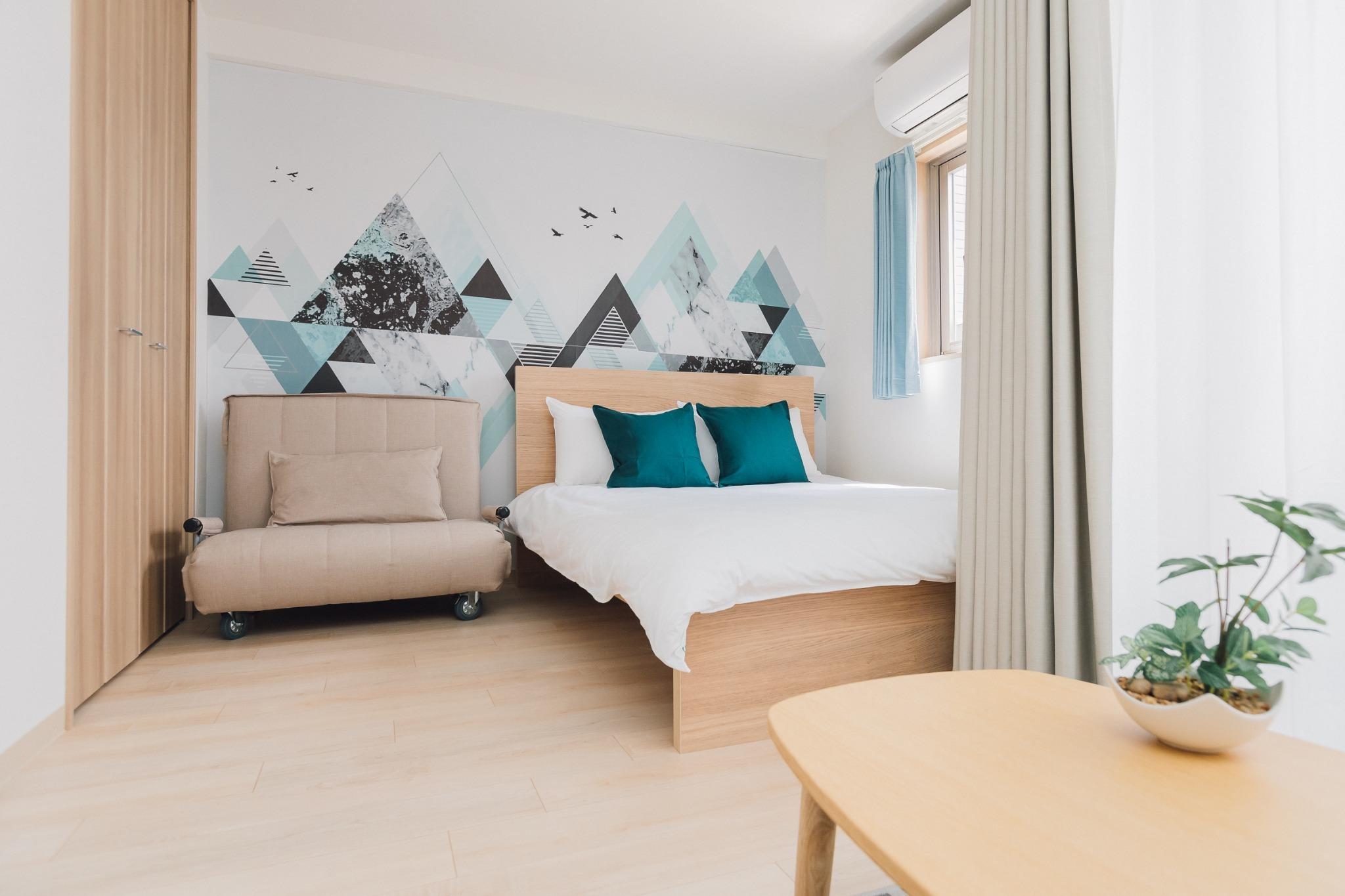 梅田1駅/十三駅歩5分 AFP Luxury Apartment Room2