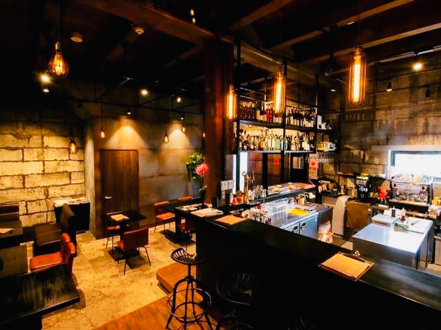 1階のレストラン。