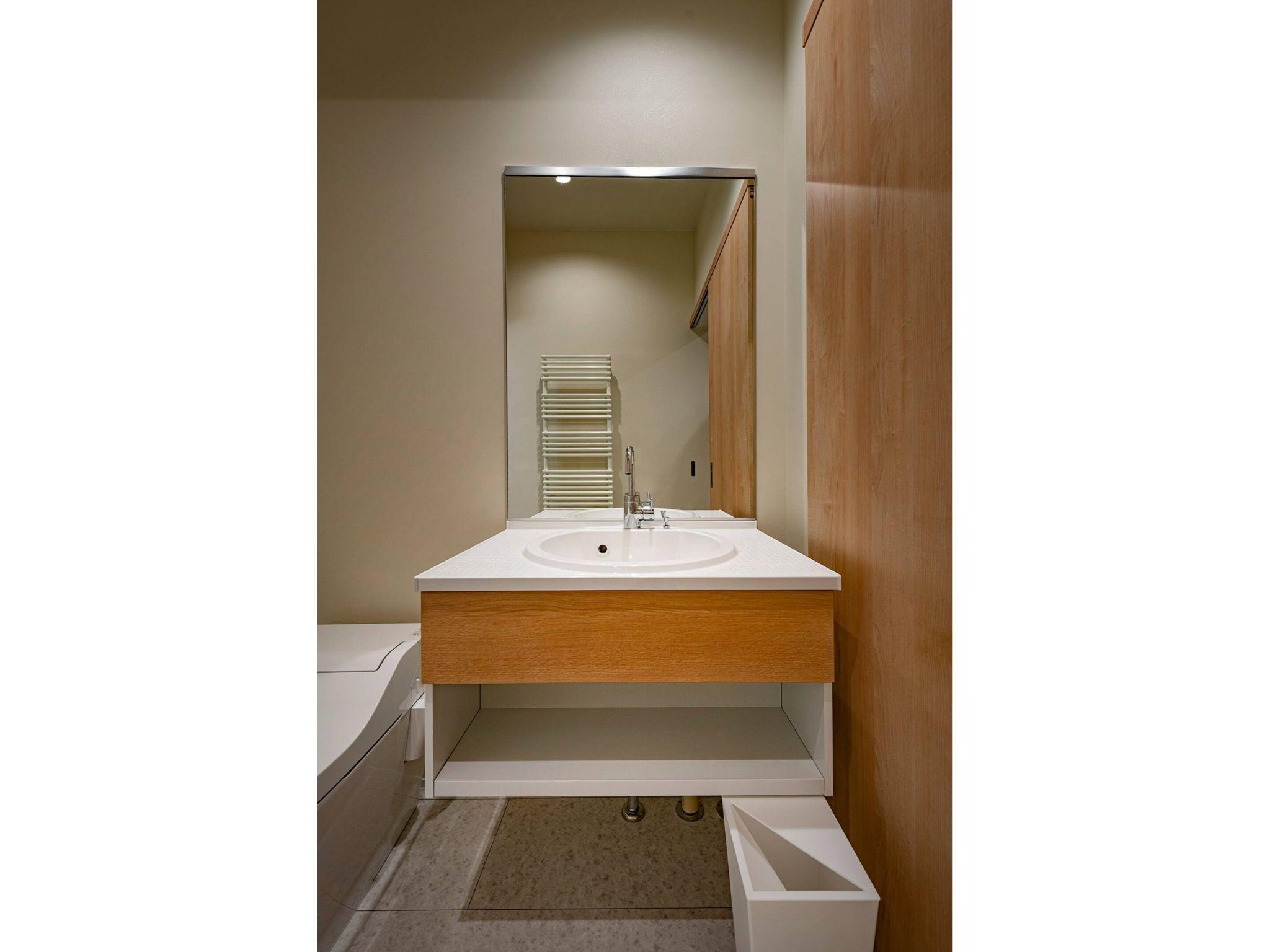 寝室2の洗面所