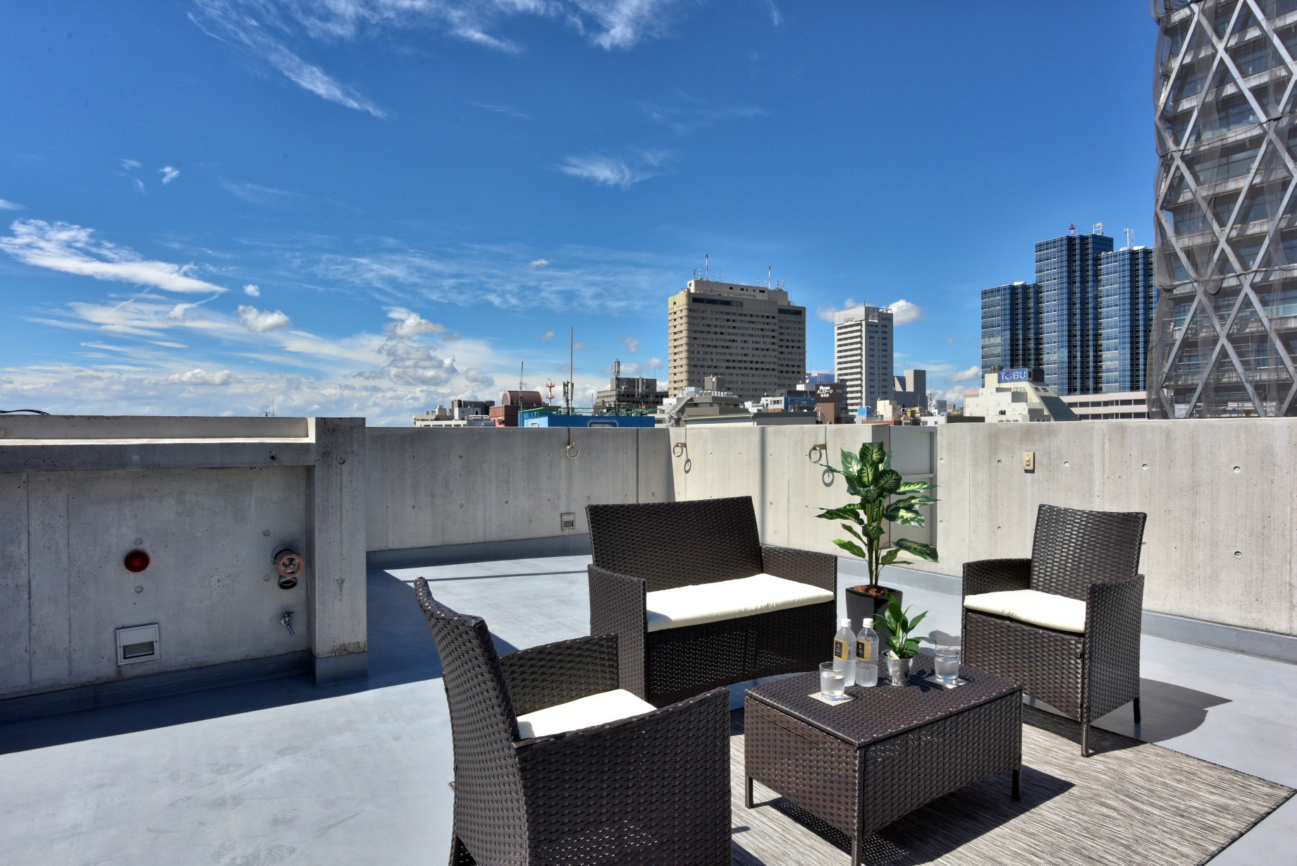 Private rooftop(専用屋上)