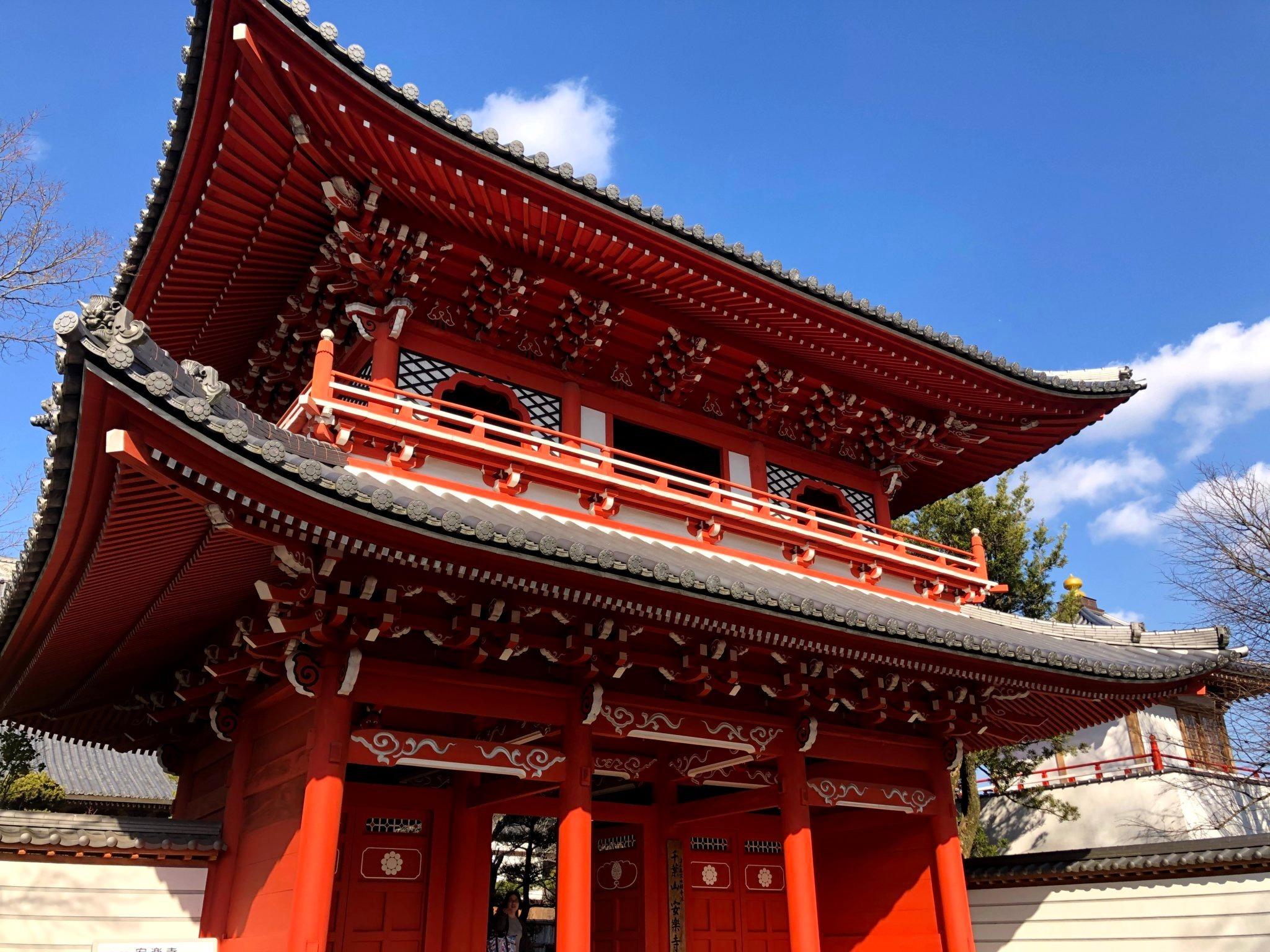 近所な由緒あるお寺