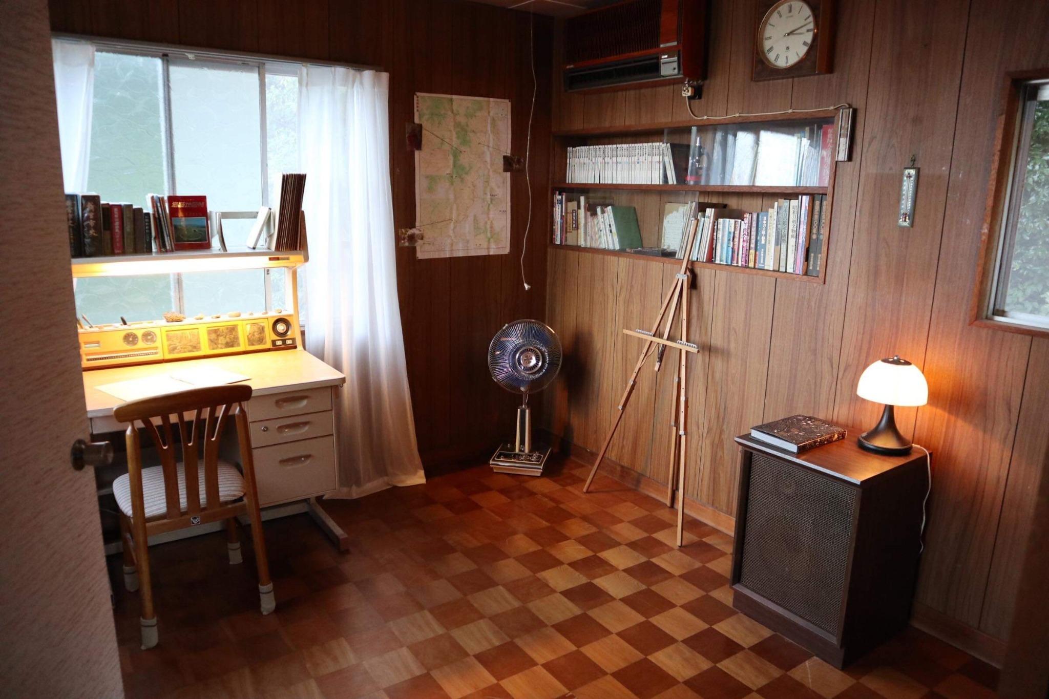 書斎の部屋
