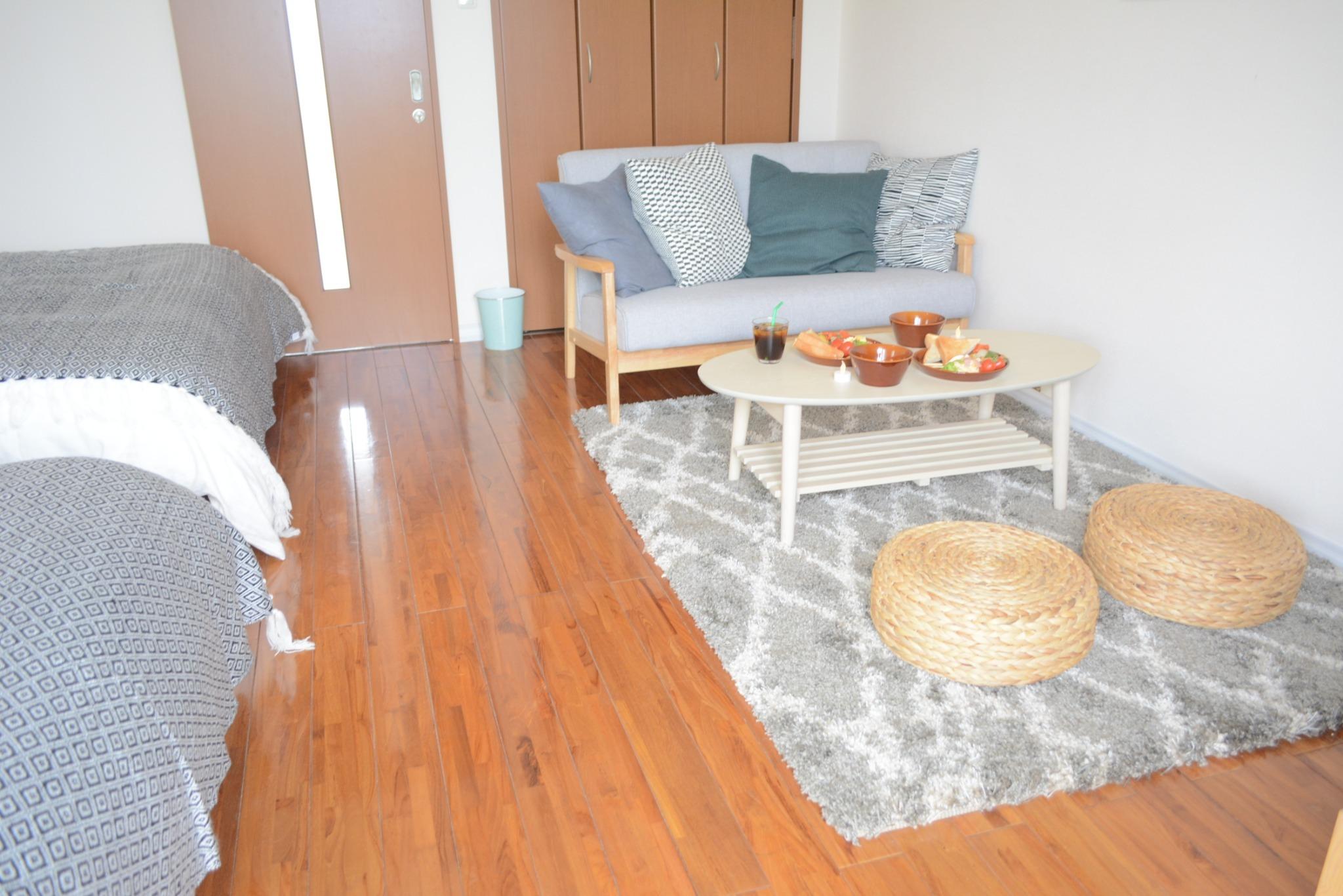 オーシャンビュー/沖縄の風が吹き抜ける高台にあるお部屋です。(201)