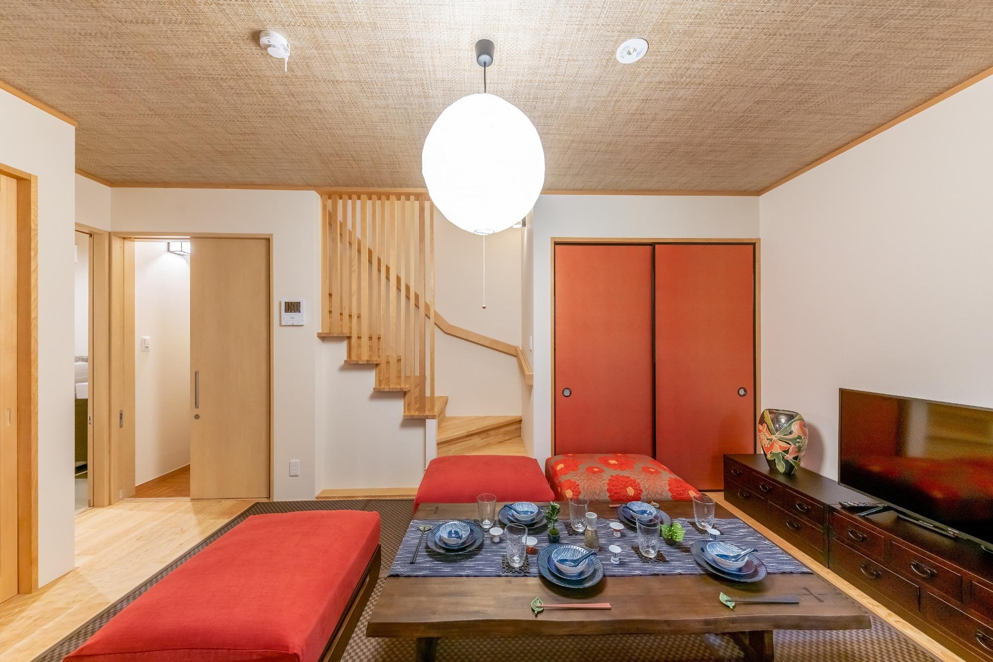 【宿家】柳通り東棟 浅草モダン和風のラグジュアリー一軒家