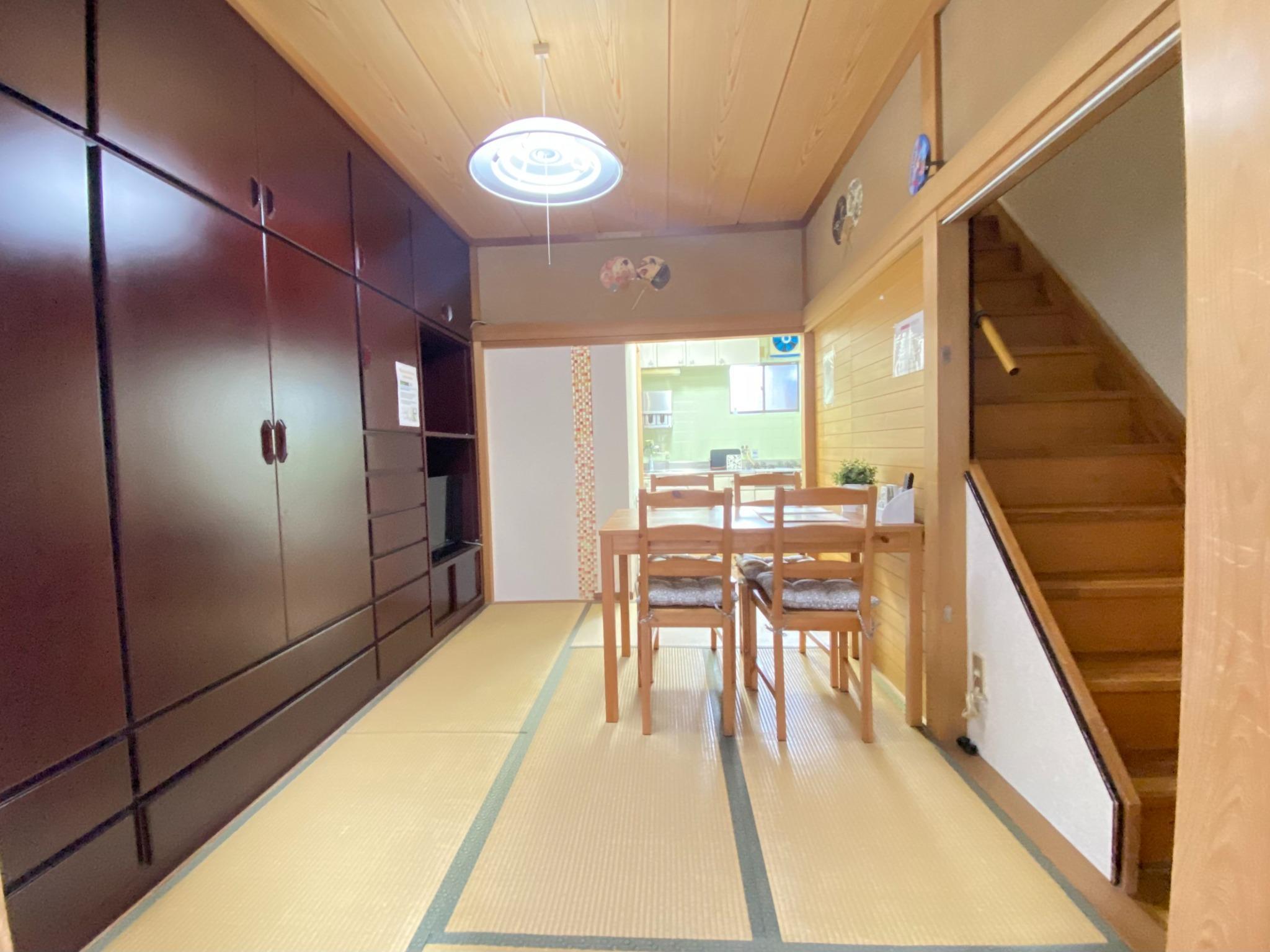 【一棟貸しだから安心安全】京都駅南側 十条駅から徒歩3分★ タコ&鍋パセット貸出オプションあり♪