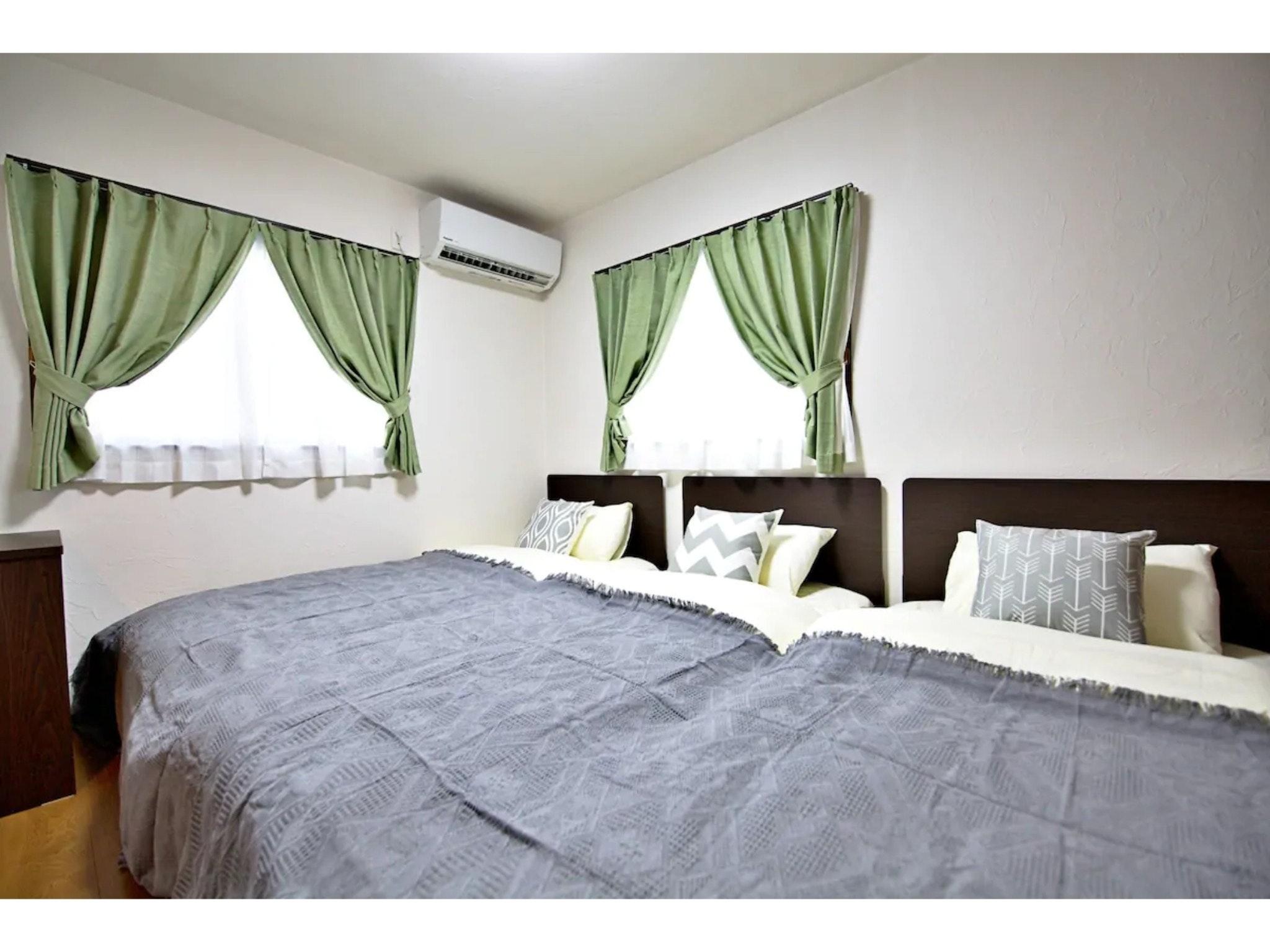 長期滞在・テレワークに最適のお部屋!無料wifi完備!最大11名が泊まれる一軒家♫