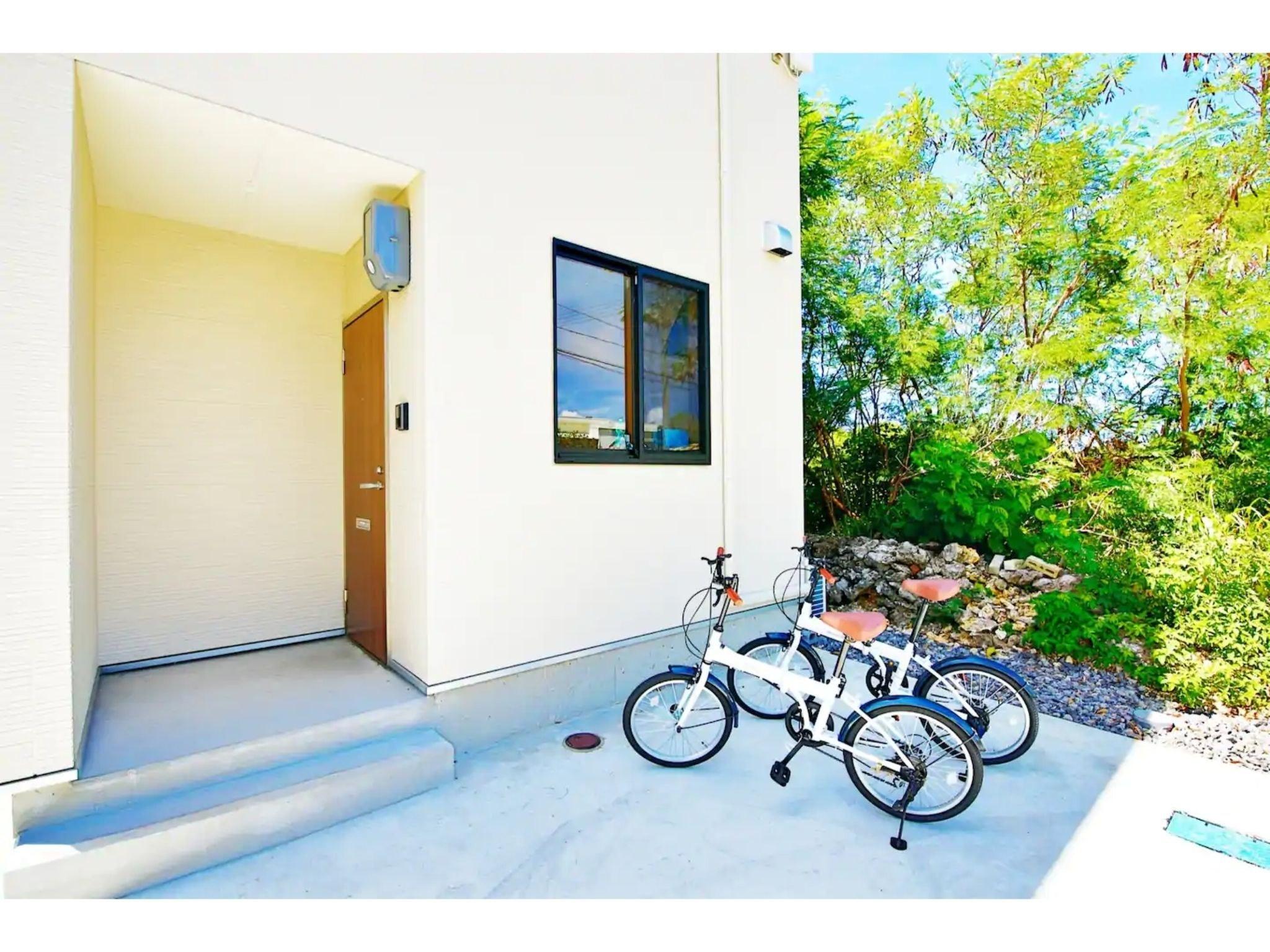 戸建でリゾートライフ、無料自転車2台、無料駐車場完備