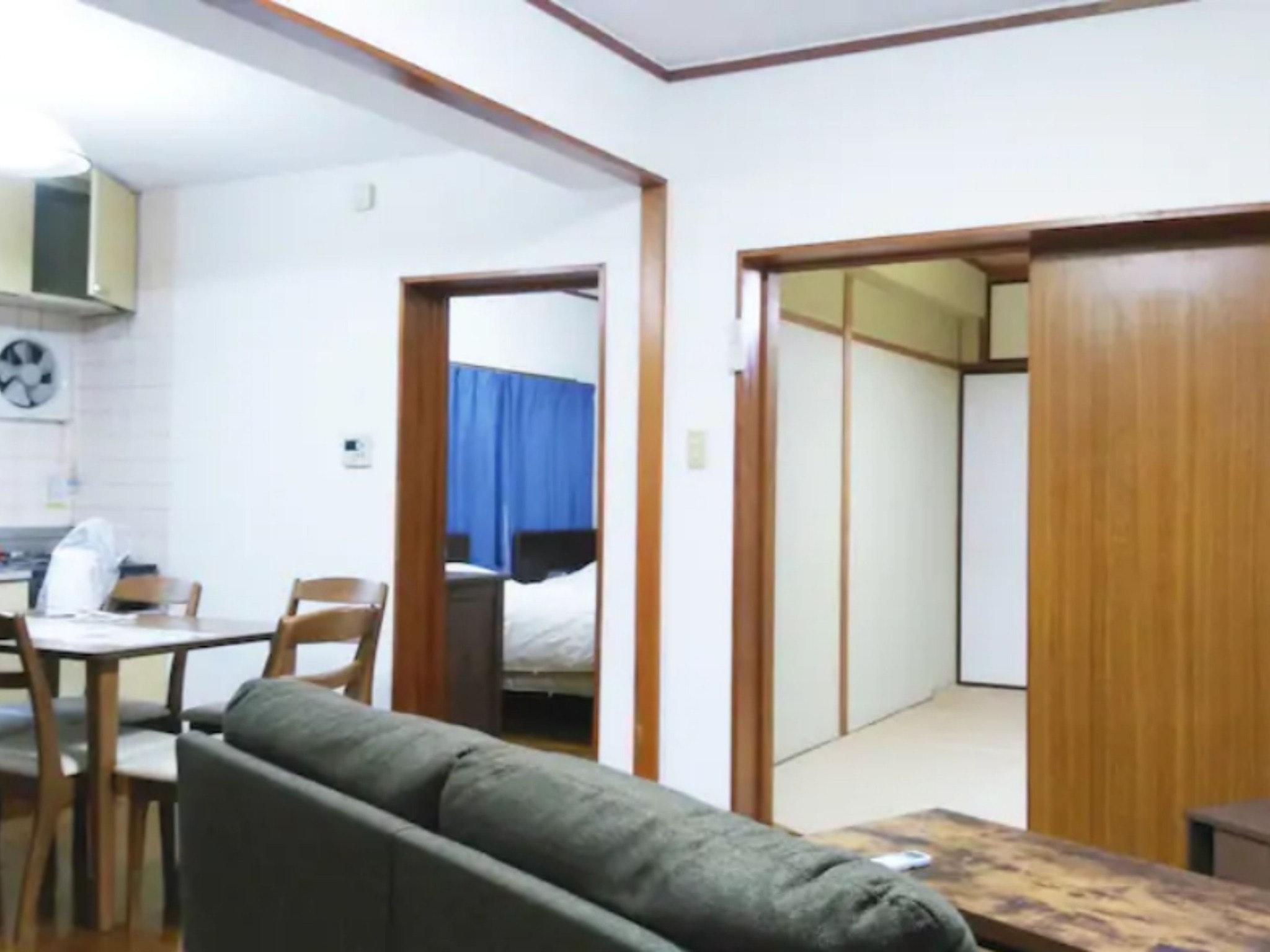 和洋室&LDK(52m2)5名宿泊可能 最寄駅から徒歩4分☆