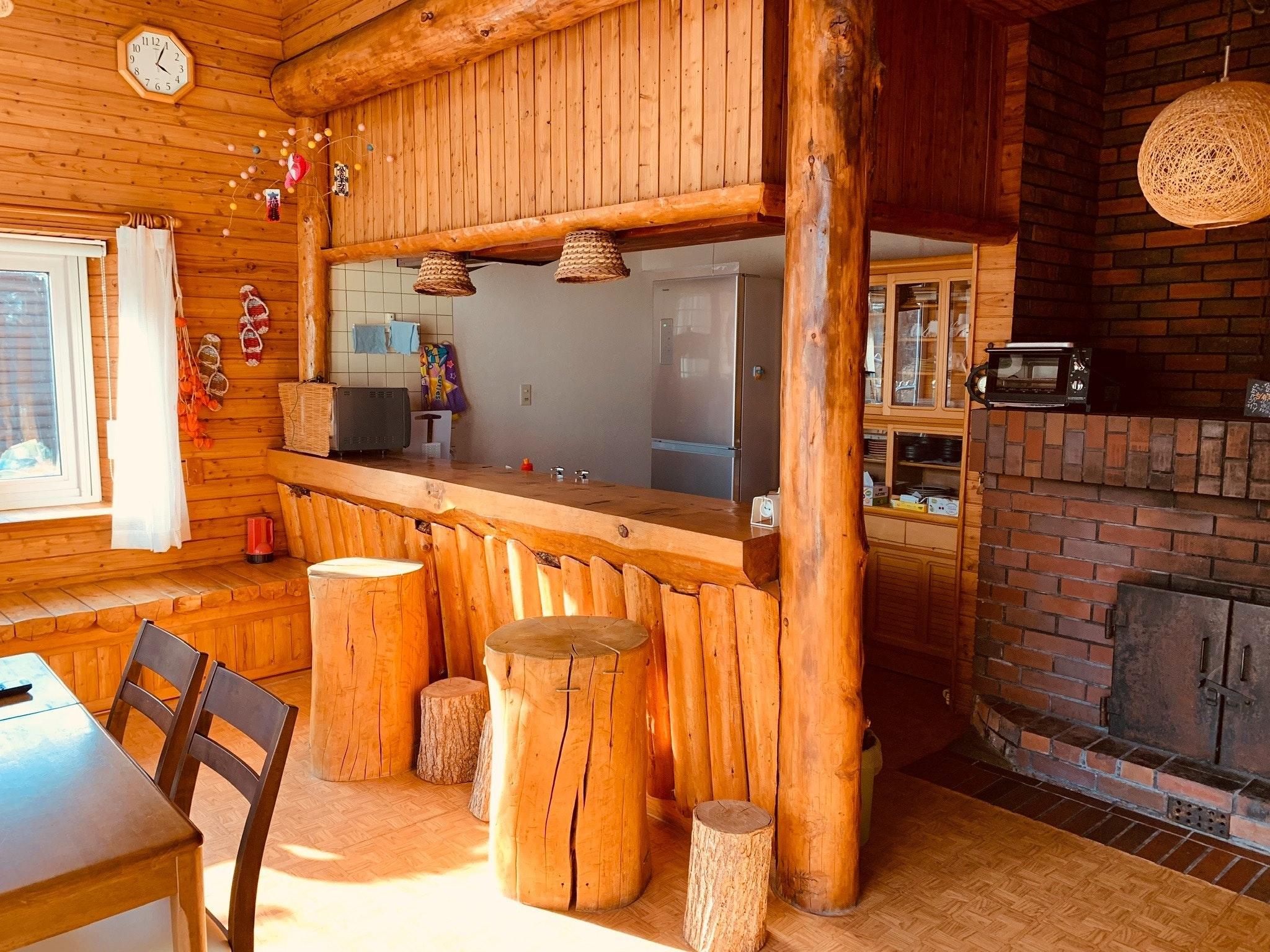 ハルズハウス2 天然温泉付きログハウス