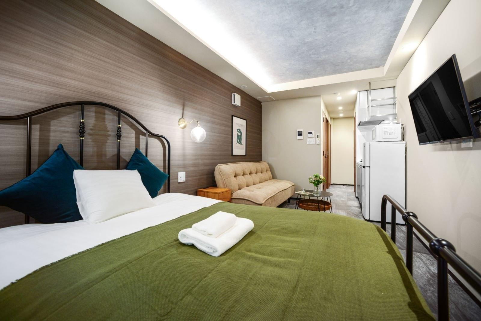 新オープン!麻布十番5分の明るいお部屋 // ALT STAY AZABUDAI 401