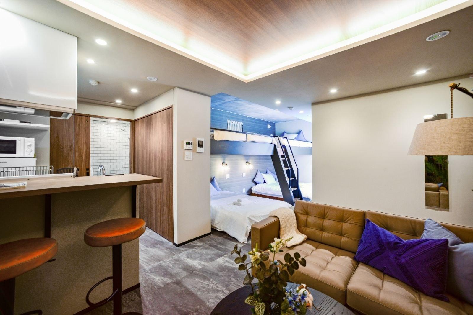 新オープン!キッチン付きの明るいお部屋 // ALT STAY AZABUDAI 403