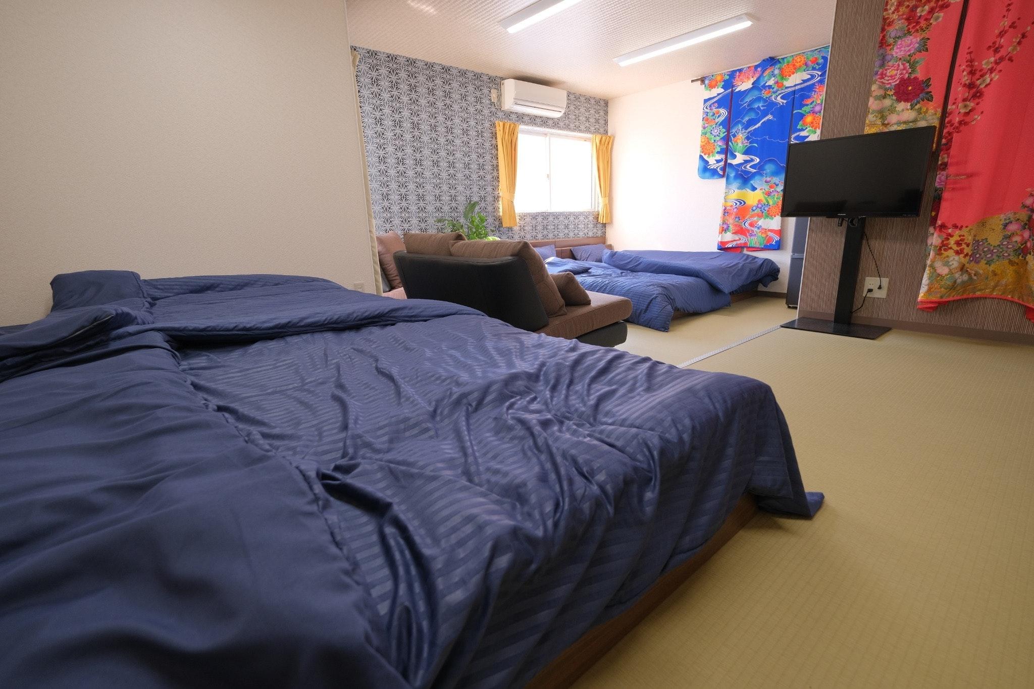 新規オープン!!下町グルメの街で、素足が気持ちよい明るい和風デザイン部屋です。♢菜花♢
