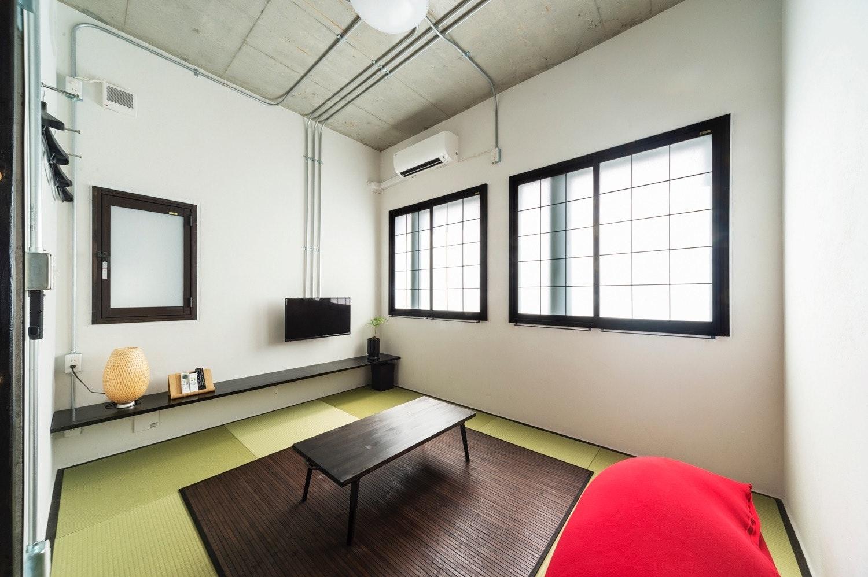 畳の香りで安らぐひととき、ジャパニーズスタイルの和モダンなお部屋 201