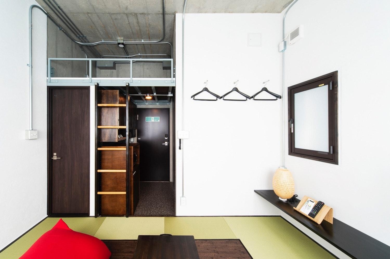 畳の香りで安らぐひととき、ジャパニーズスタイルの和モダンなお部屋 401