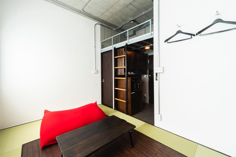 畳の香りで安らぐひととき、ジャパニーズスタイルの和モダンなお部屋 501