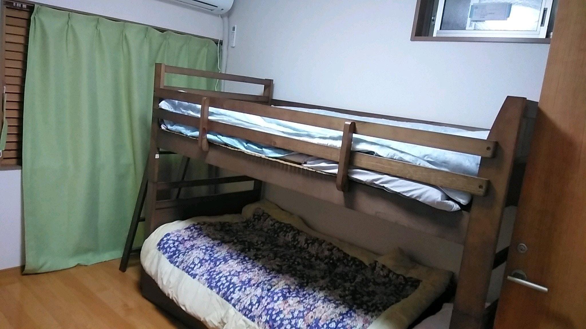 5号 梅林 二段ベッド