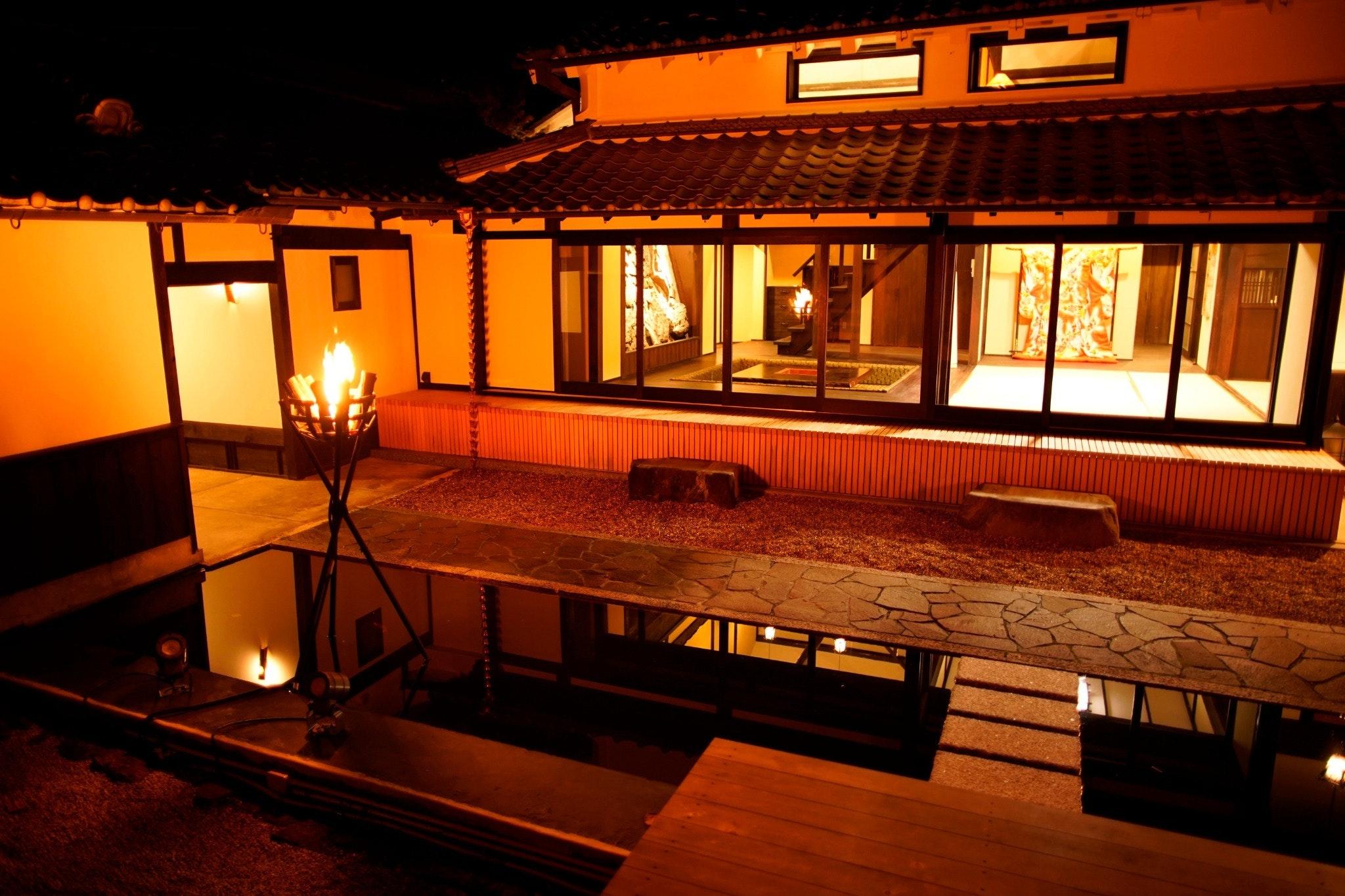 【朝食付き】1日1組限定で完全プライベートな空間で、江戸時代の武家屋敷かのような施設
