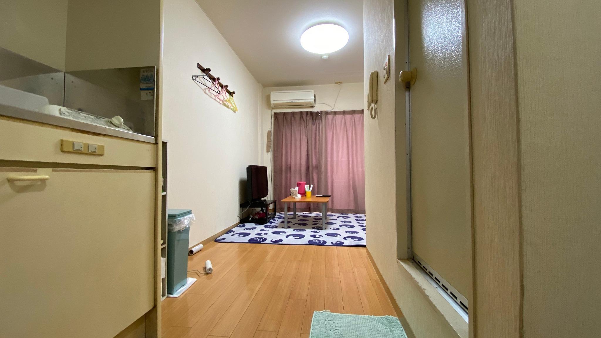 テレビ、エアコン、冷蔵庫など一通りの家電完備