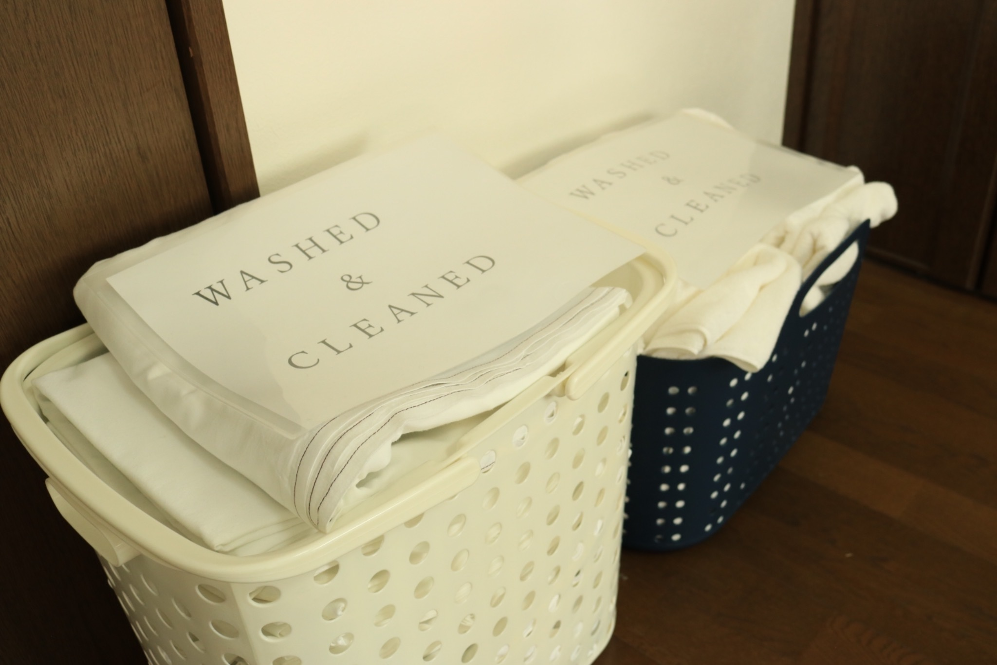 cleaned towel