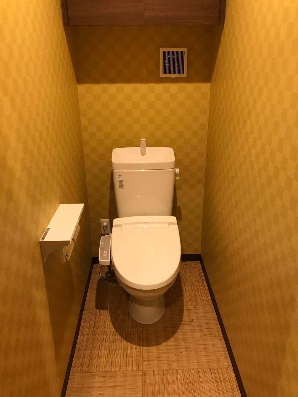 トイレは3か所あります。