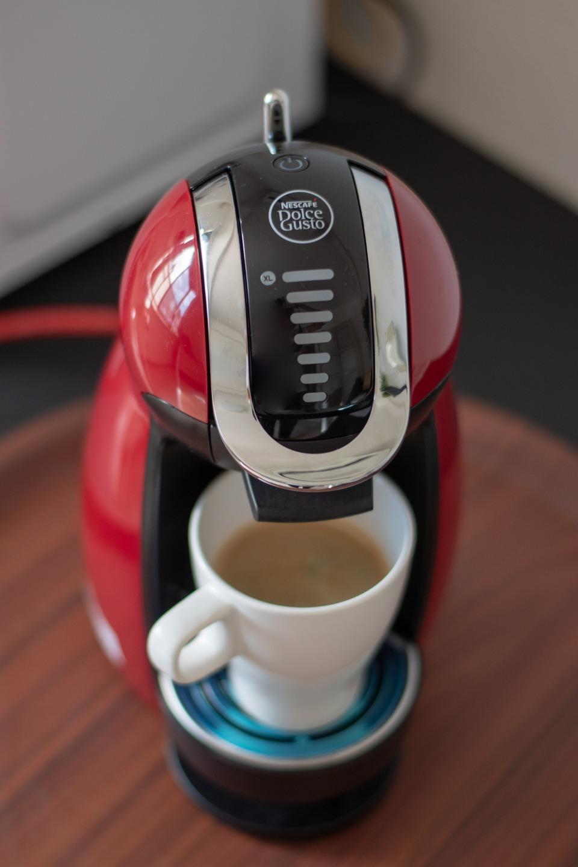 目覚めにコーヒーはいかがでしょう。