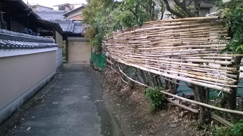 Outside Bamboo House