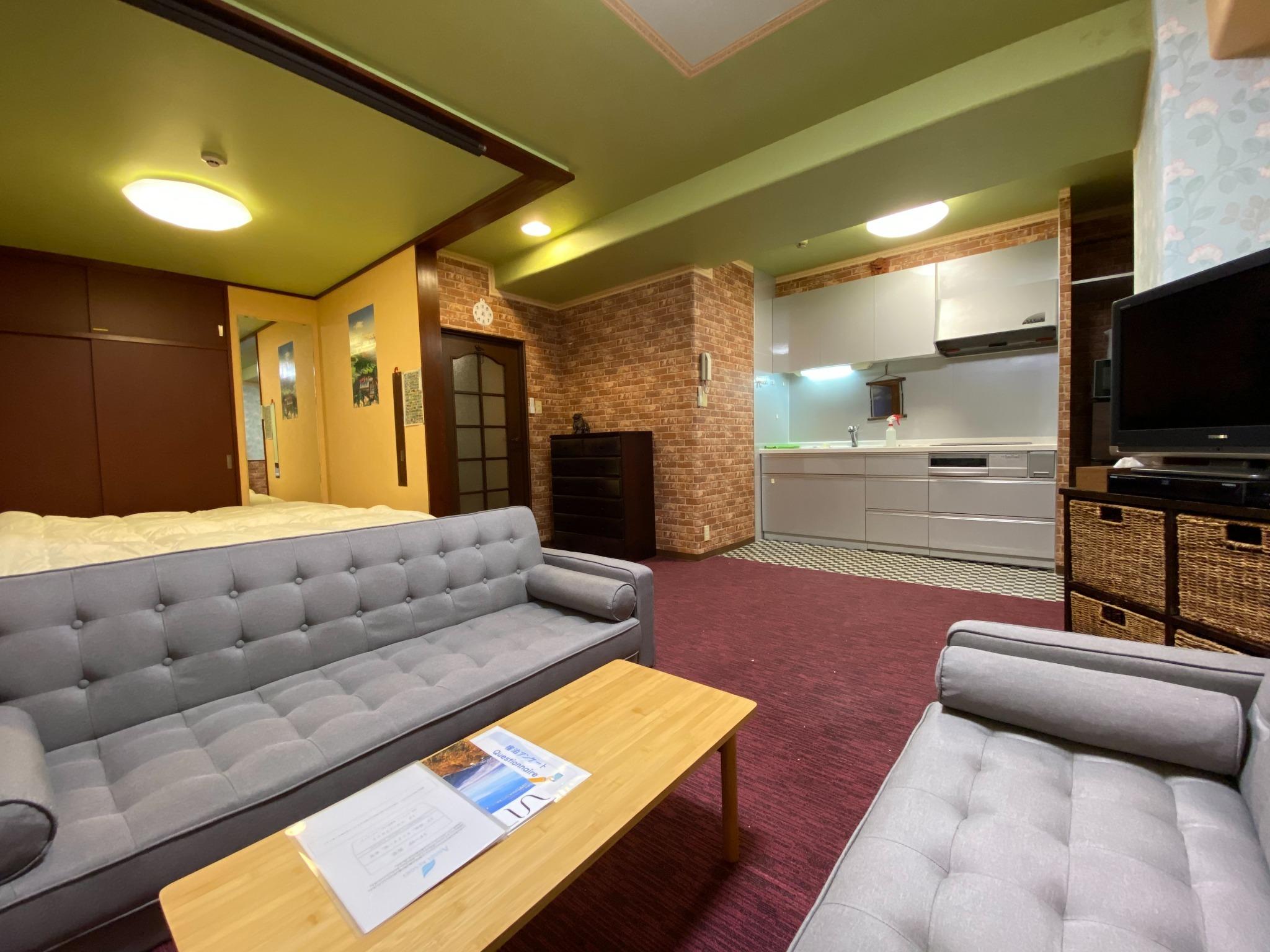 【ワーケーション応援】温泉有・Wi-Fi完備・リゾートマンションでごゆっくり【916号室・4名】