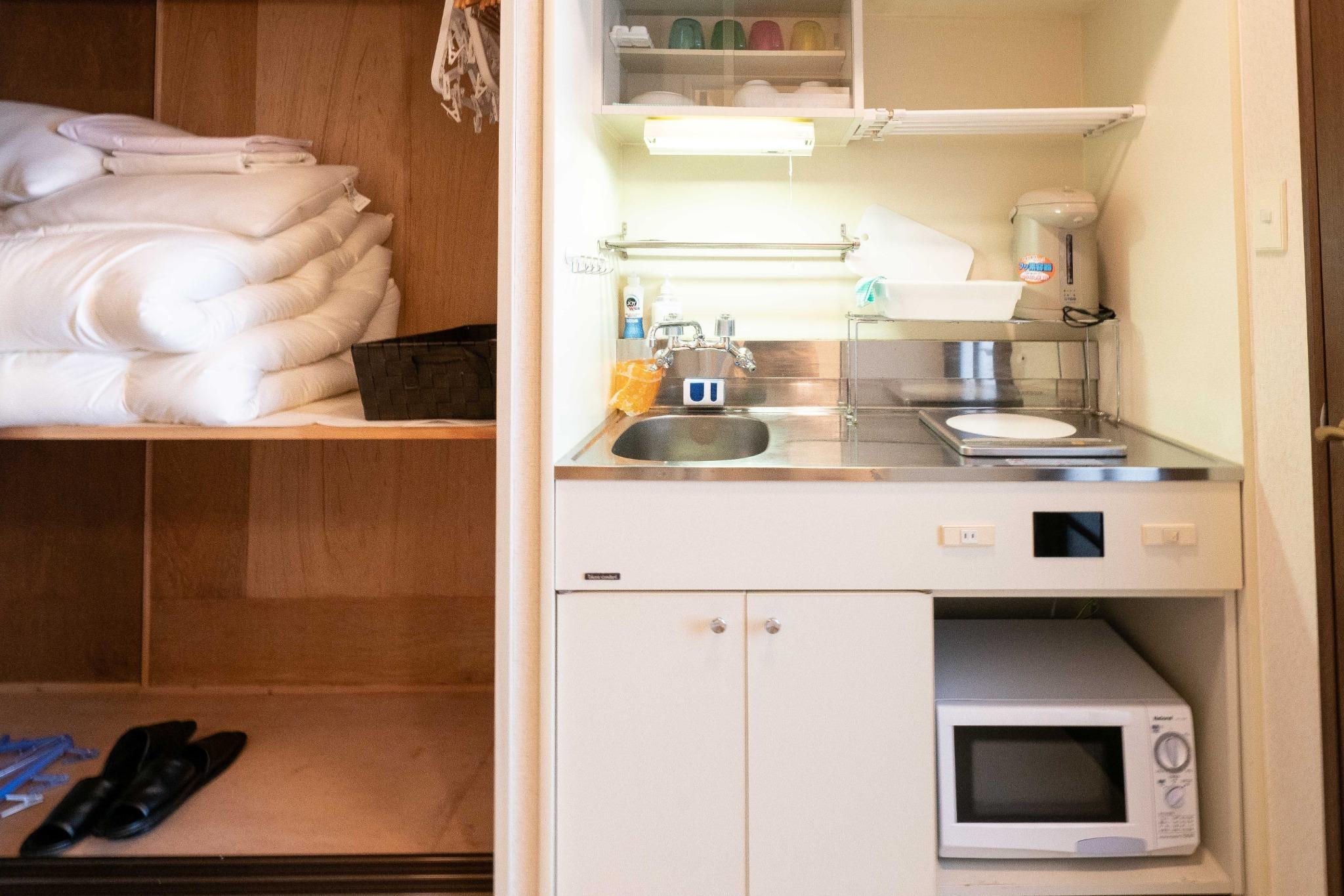 【ワーケーション応援】温泉有・Wi-Fi完備・リゾートマンションでごゆっくり【411号室・4名】