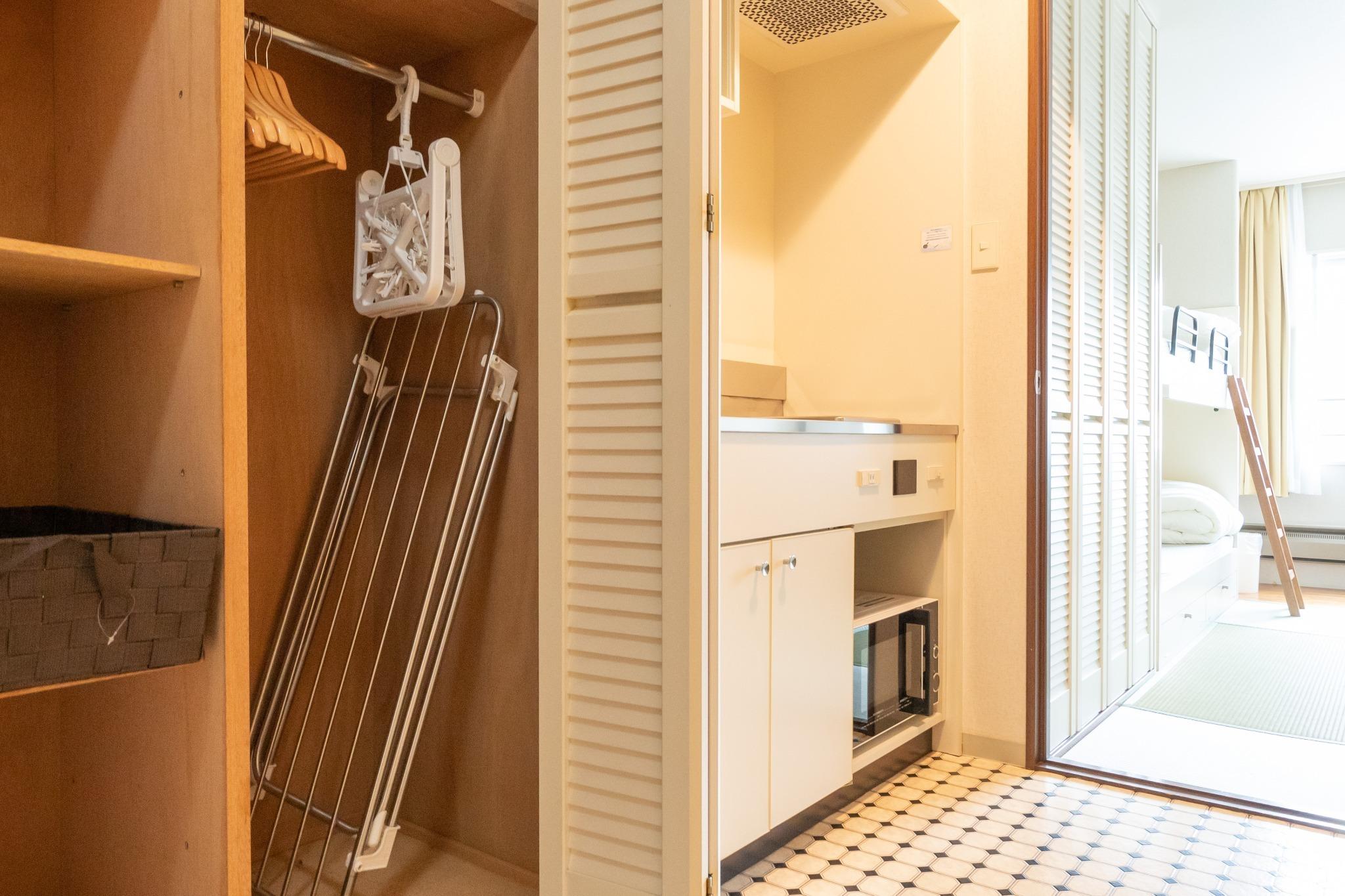 【ワーケーション応援】温泉有・Wi-Fi完備・リゾートマンションでごゆっくり【209号室・4名】