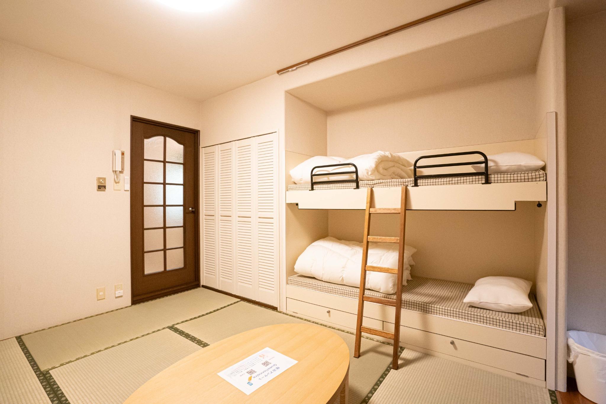 【値下げSALE中】Wi-Fi完備・温泉有・ミニキッチン付・一階コンビニ【914号室・4名】