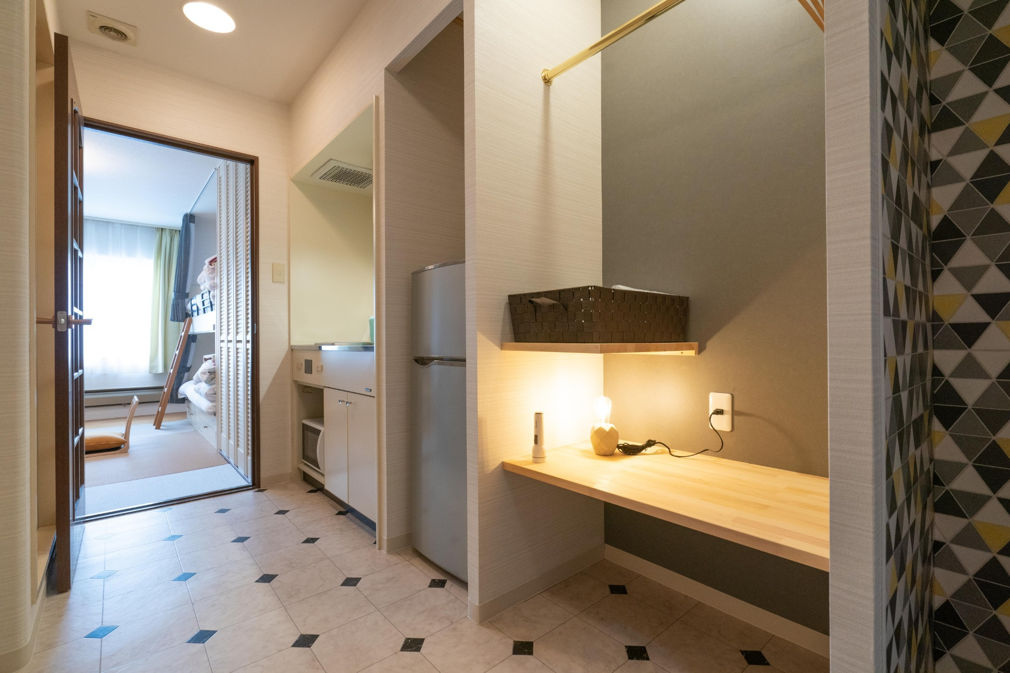 【ワーケーション応援】温泉有・Wi-Fi完備・リゾートマンションでごゆっくり【210号室・4名】
