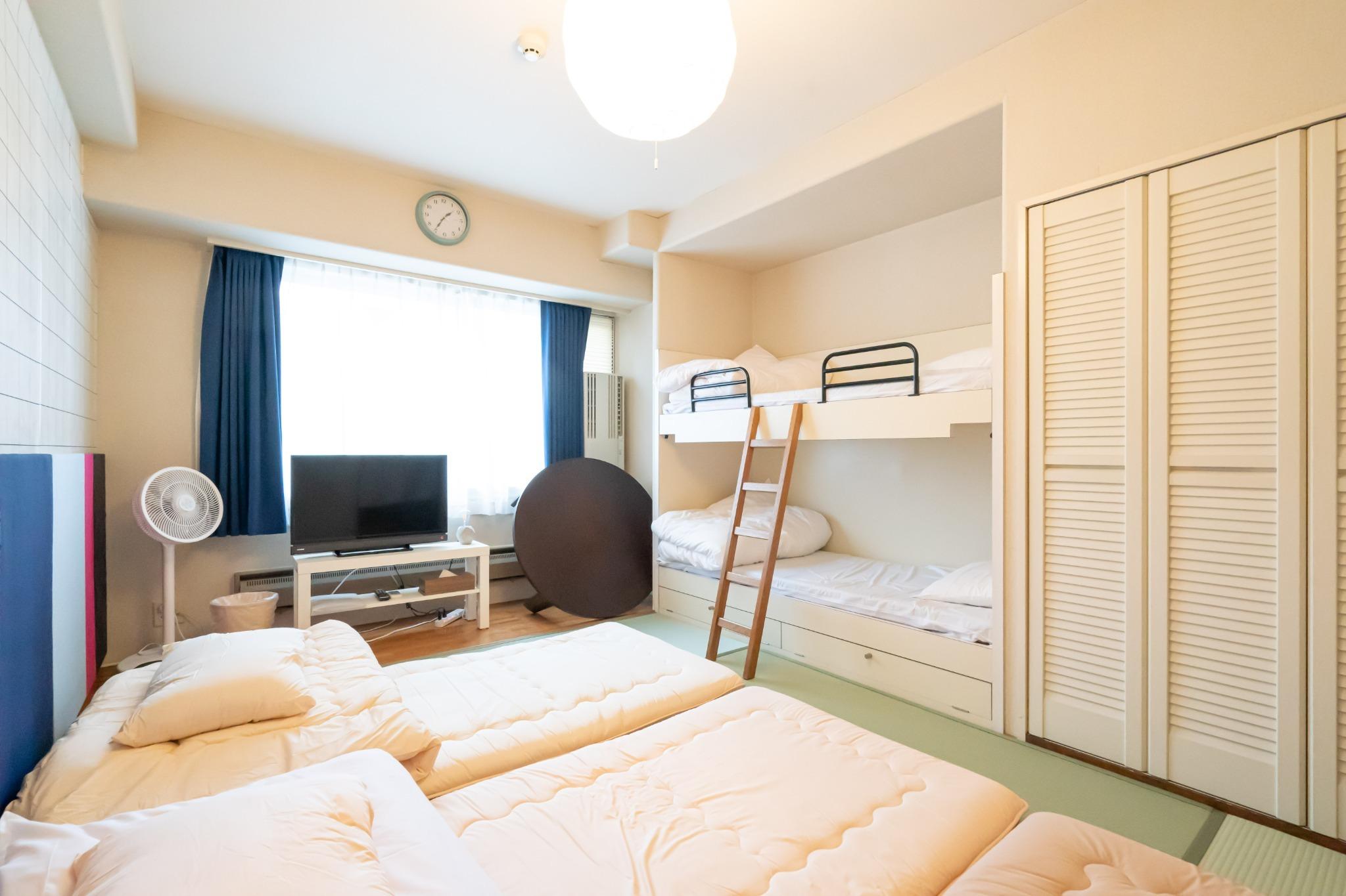 【値下げSALE中】温泉有・Wi-Fi完備・リゾートマンションでごゆっくり【406号室・5名】