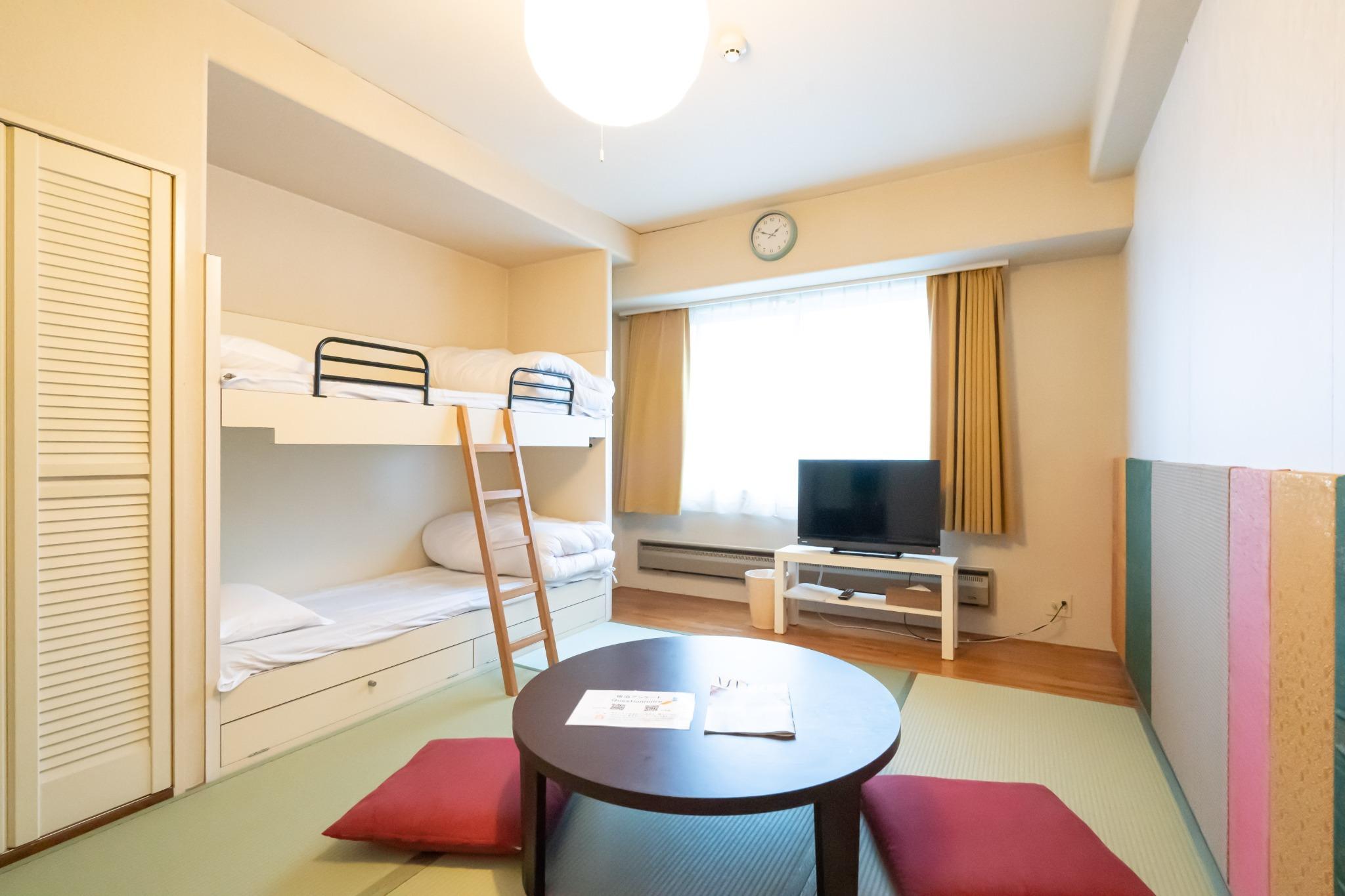【値下げSALE中】温泉有・Wi-Fi完備・リゾートマンションでごゆっくり【407号室・5名】