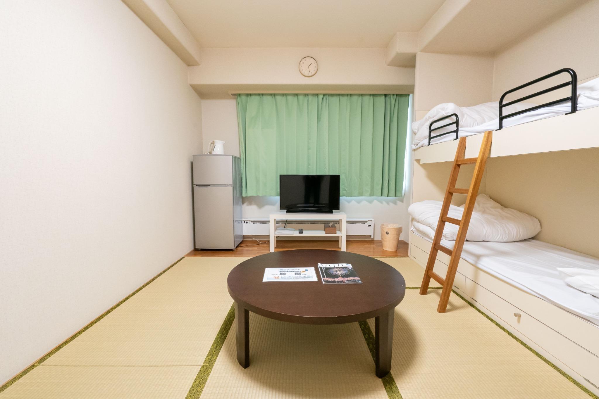 【値下げSALE中】温泉有・Wi-Fi完備・リゾートマンションでごゆっくり【506号室・4名】