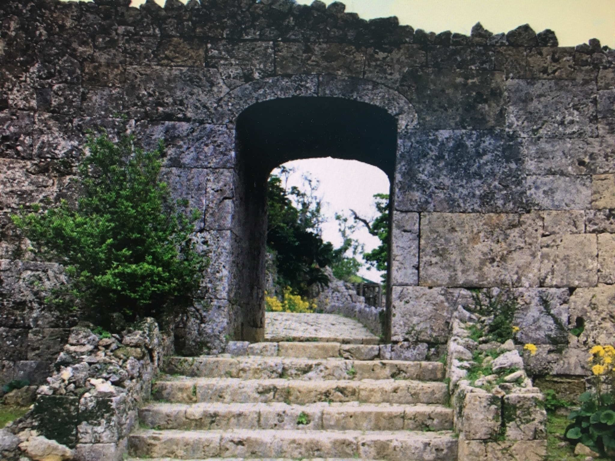 世界遺産 中城城址