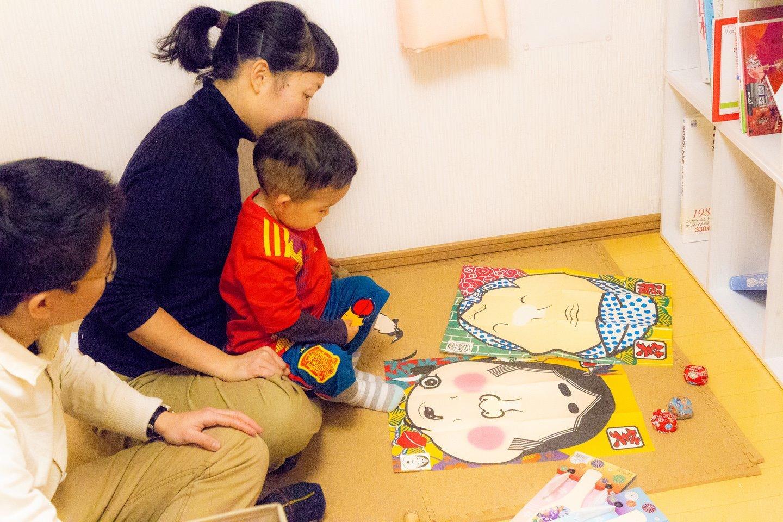 お子様向けの日本のおもちゃが沢山あります