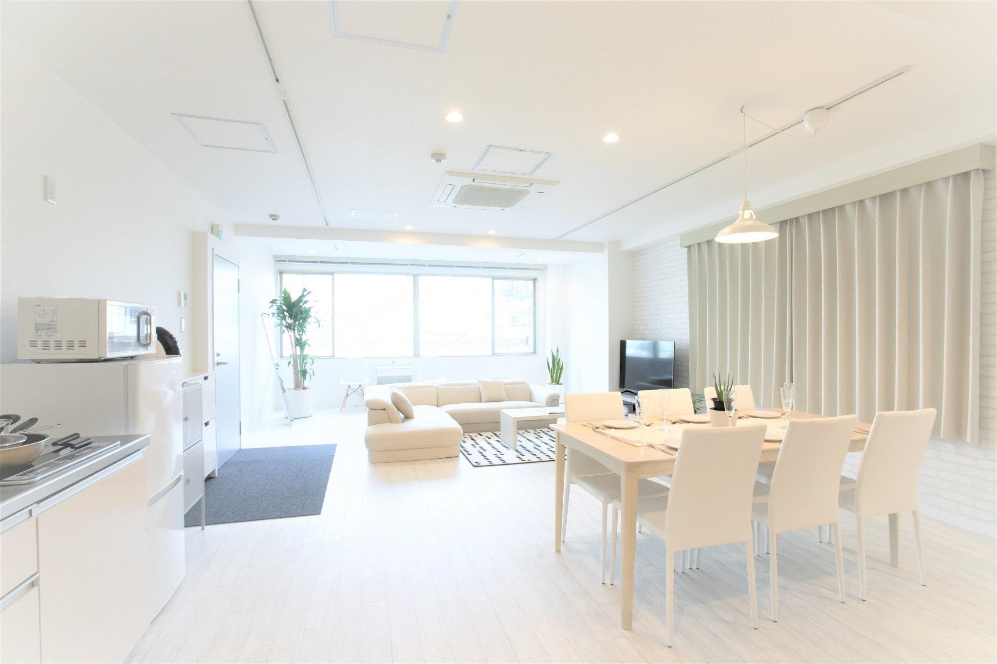 大阪最大級!120平米のプライベートルーム「301」
