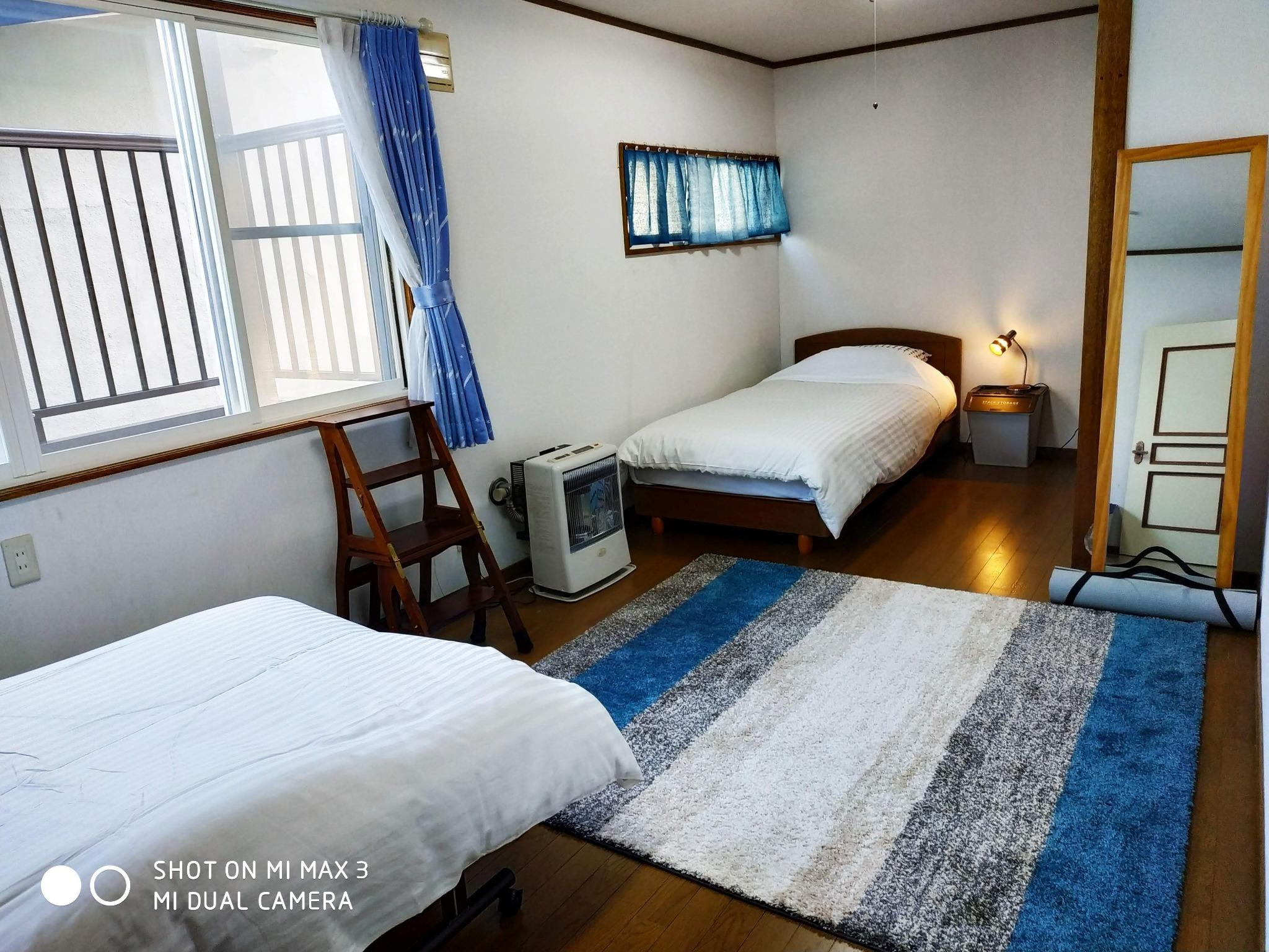 Bay View House(民泊) / Blue Room(個室)